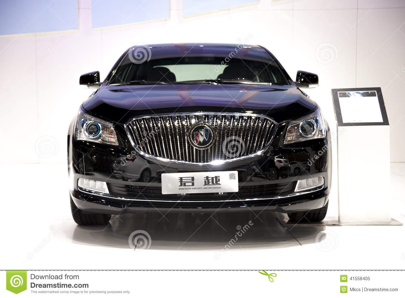 buick lacrosse car on display at the la auto show editorial photo 35553421. Black Bedroom Furniture Sets. Home Design Ideas