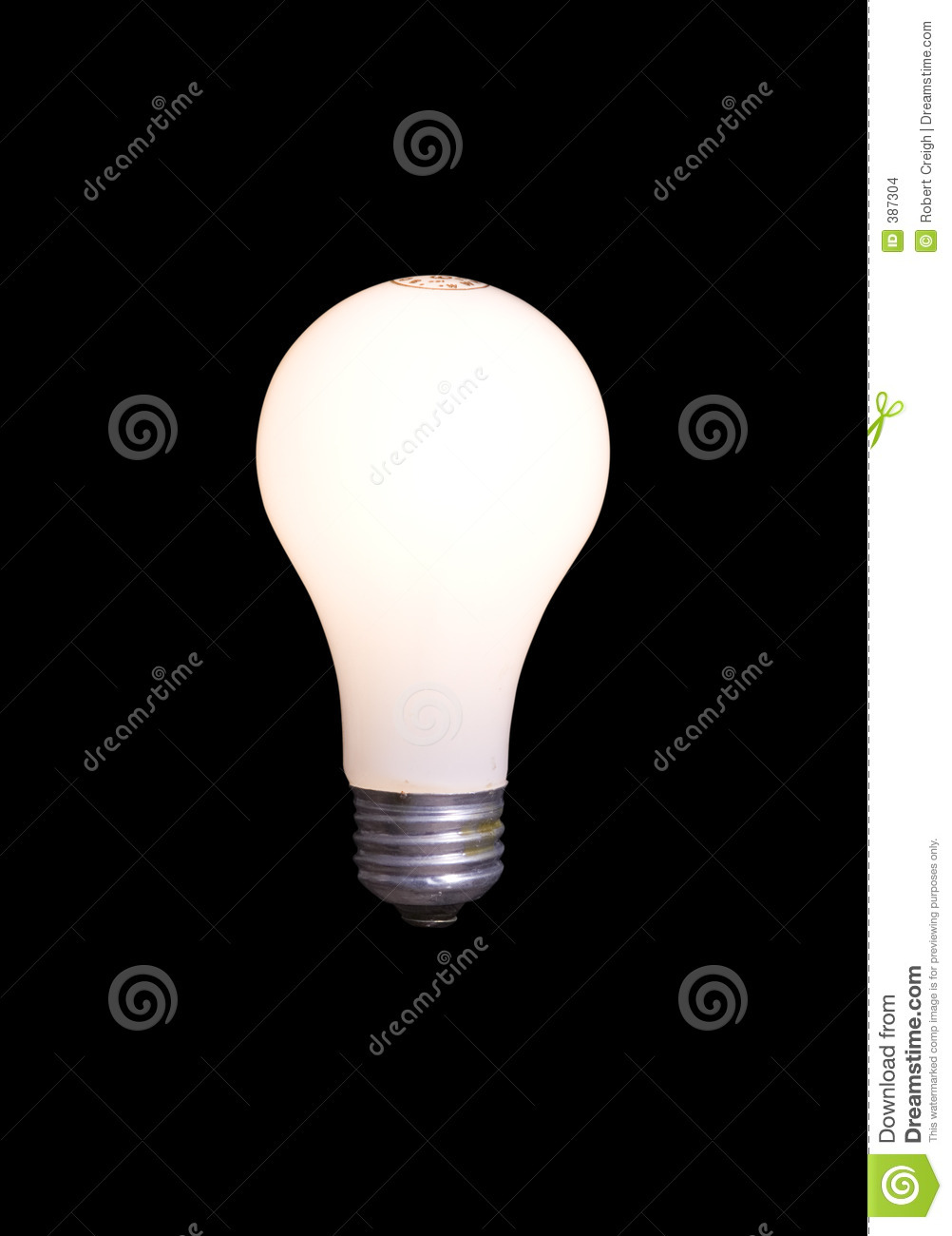Black bulb clipping isolated light path