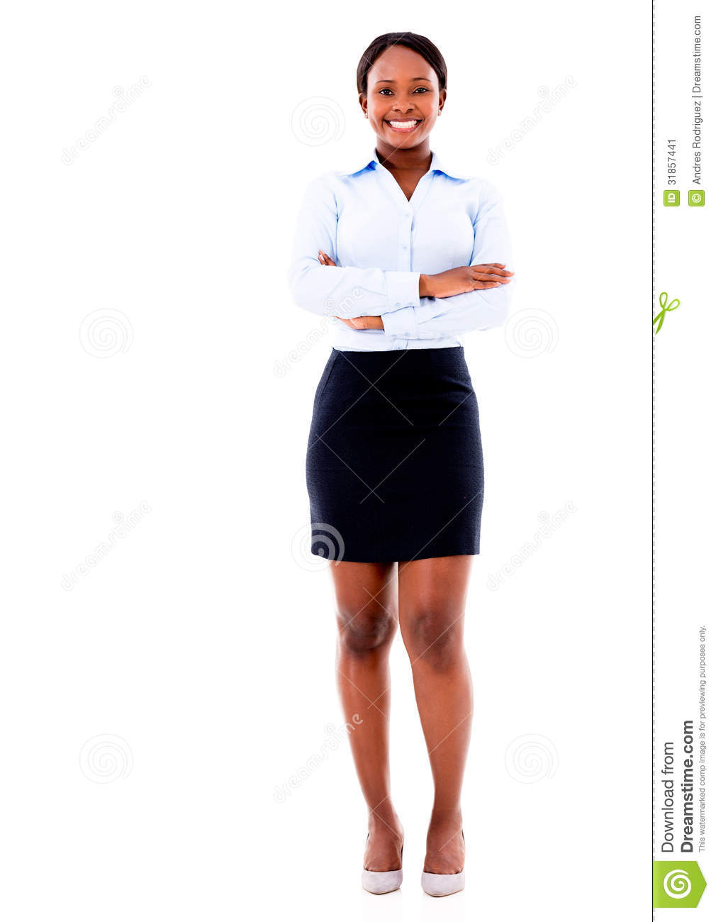 black-business-woman-smiling-isolated-ov