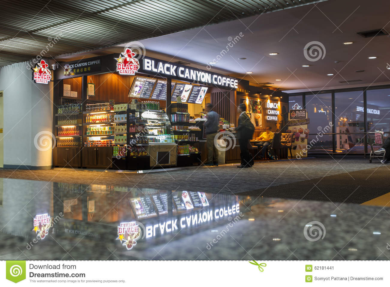 black canyon coffee Black canyon coffee serves specialty drinks and thai food drinks such as thai  iced coffee and thai iced tea, chocolate drinks imported from europe, matcha.