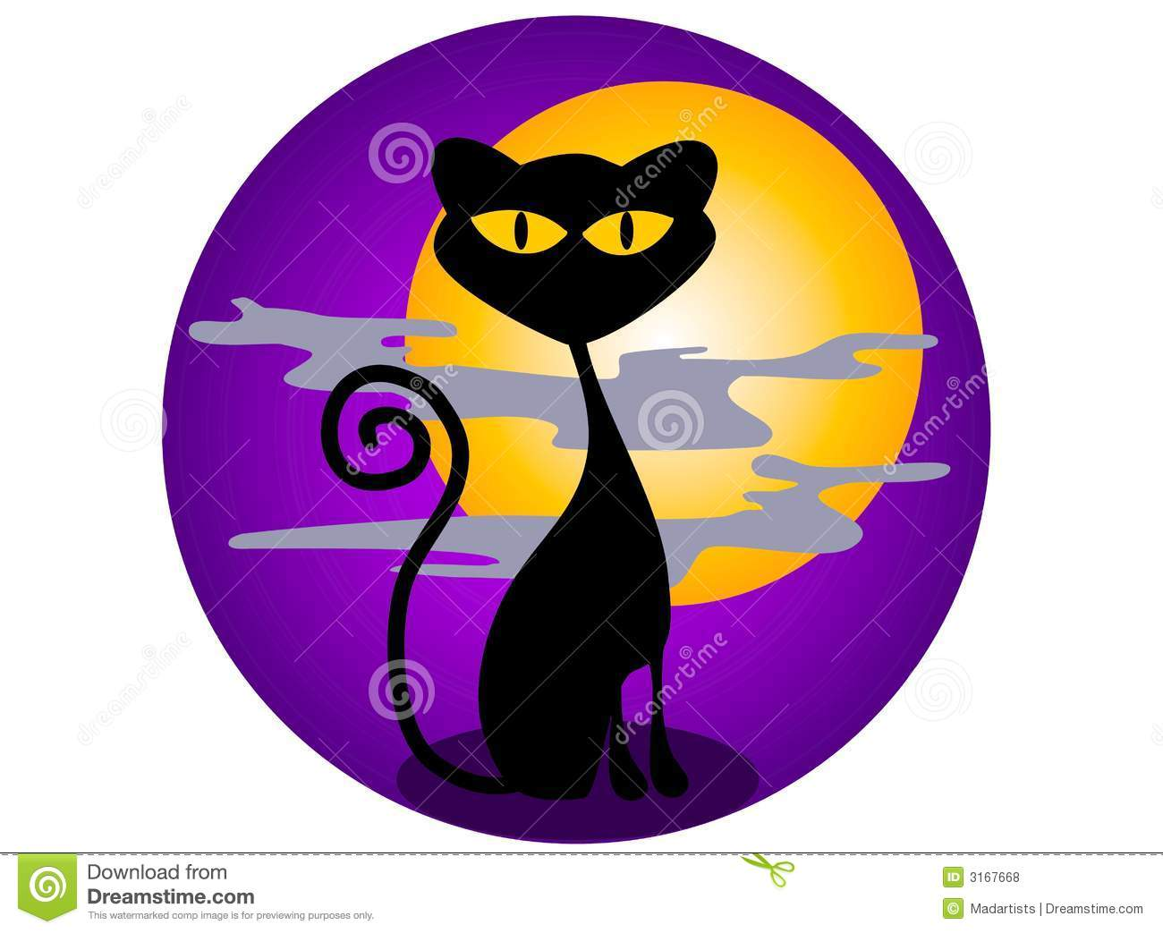 Black Cat Halloween Graphics Royalty Free Stock Photos - Image ...