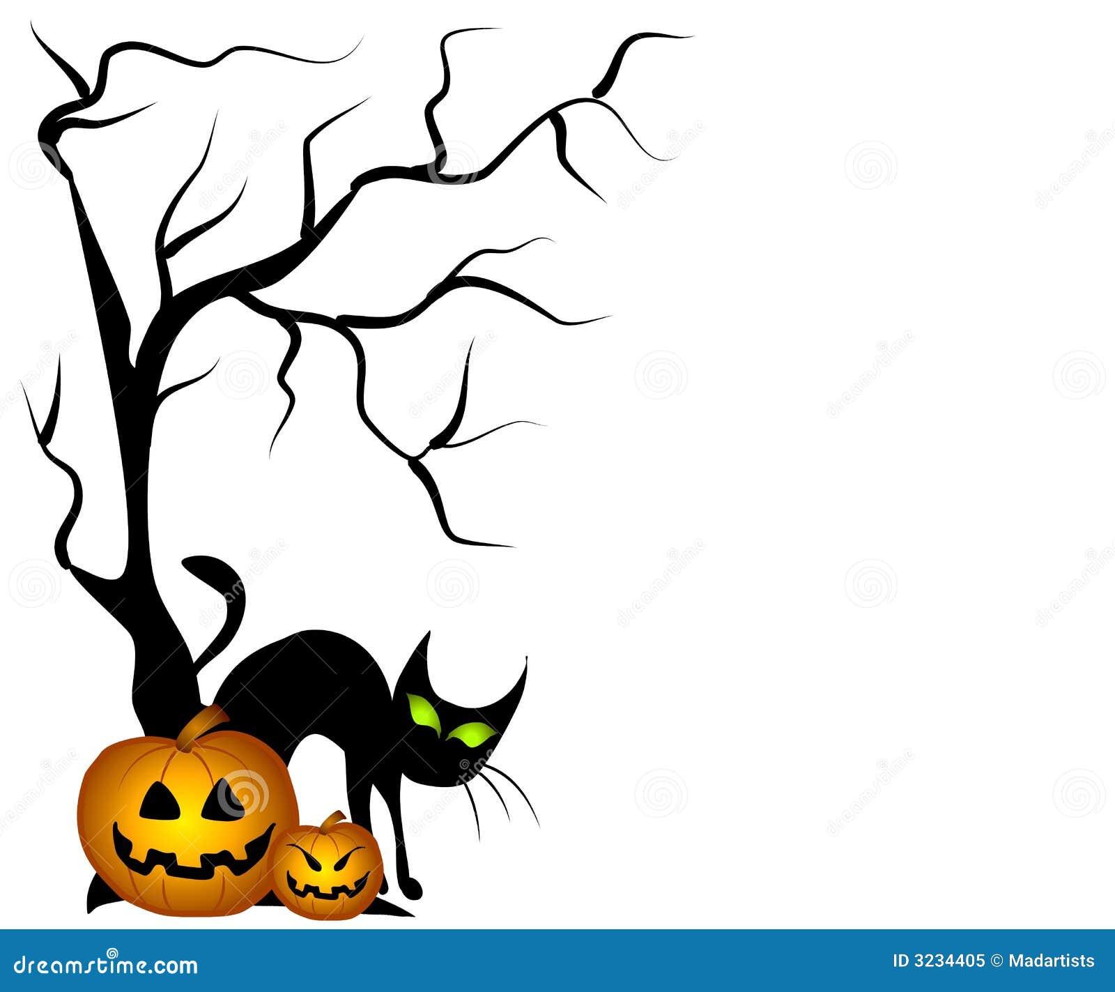 black cat halloween pumpkins royalty free stock photo image 3234405