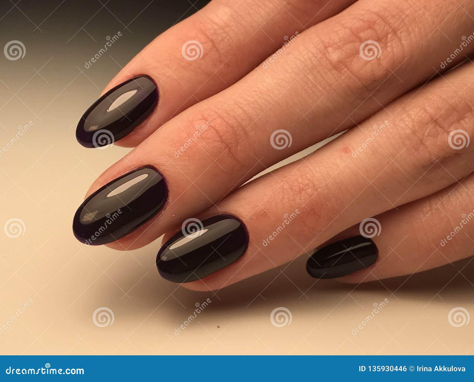 Black cat nails stock photo  Image of minimalism, christmas