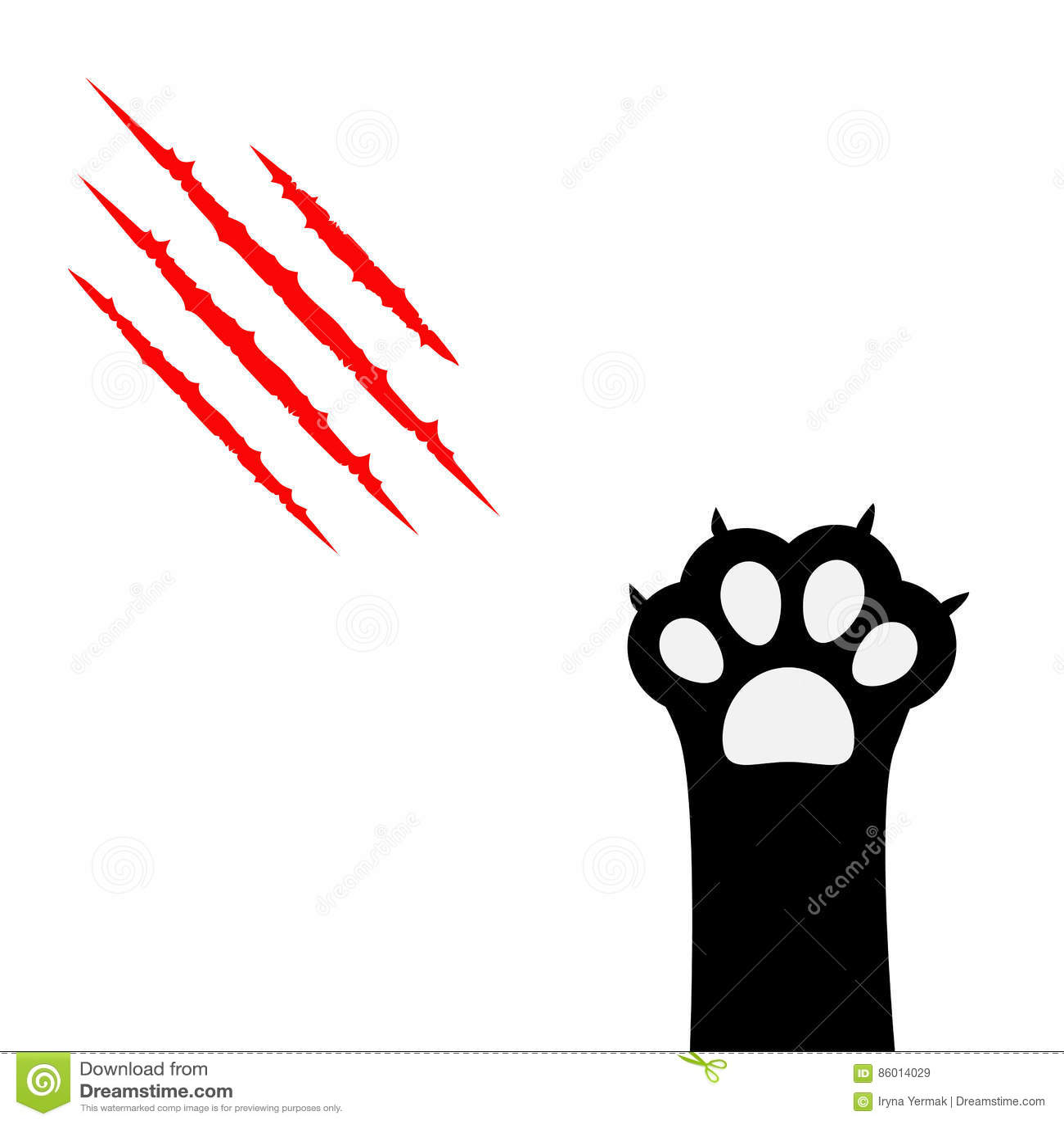 bloody scratch marks cartoon vector cartoondealer com bear claw marks clipart free claw marks clipart