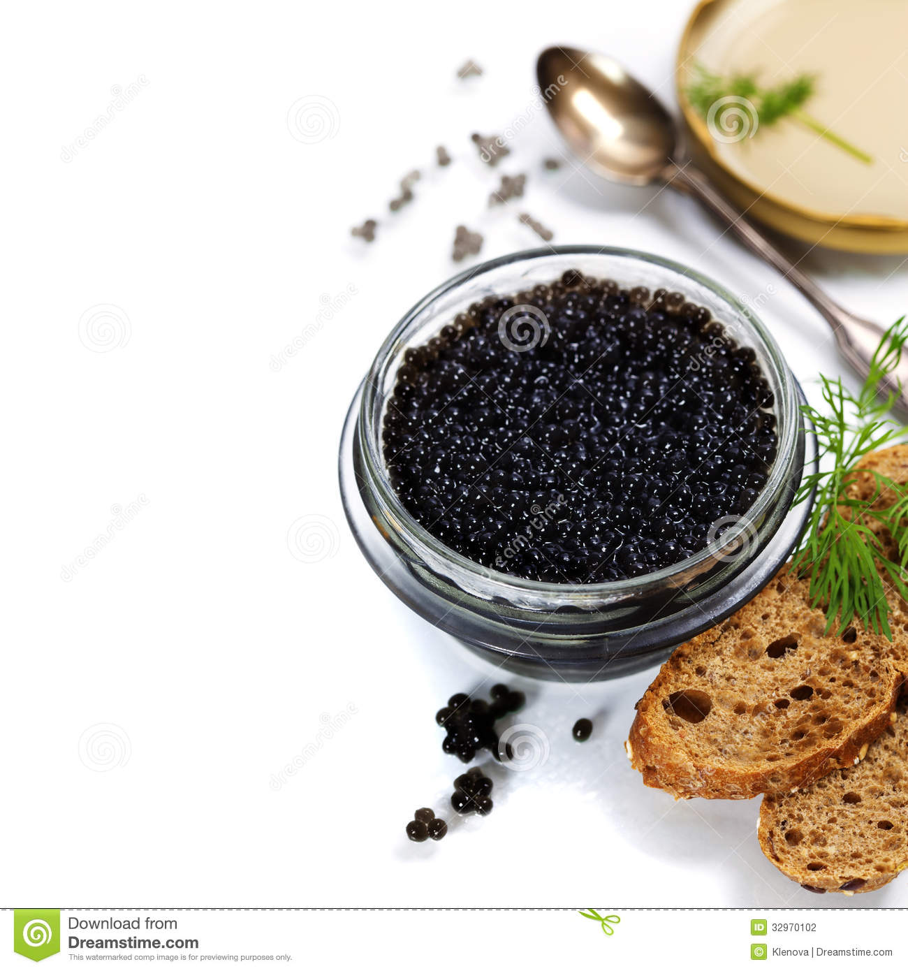 Black caviar stock photo image of dill lunch salty for Black caviar fish