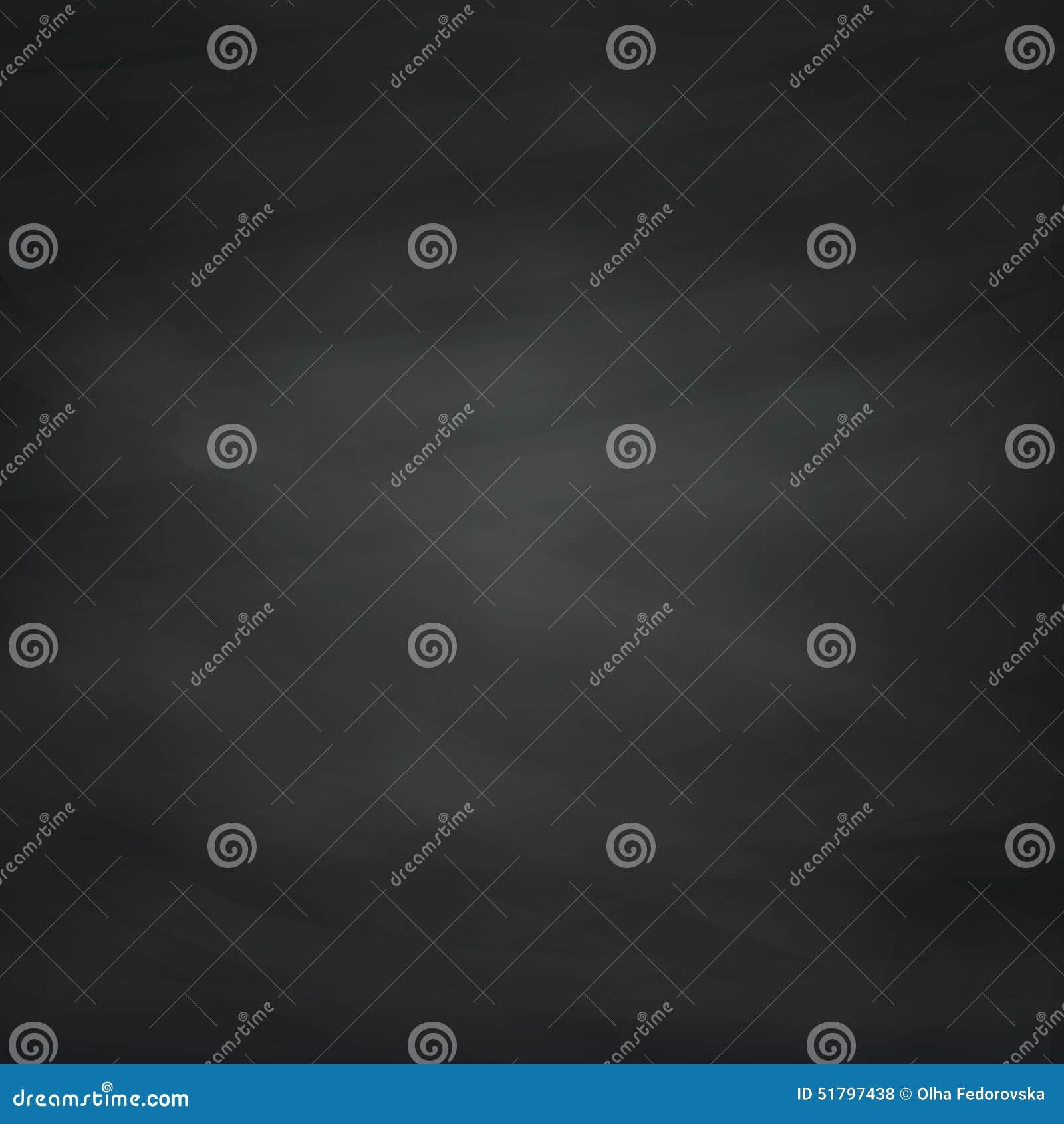Black Chalkboard Texture. Vector Background.