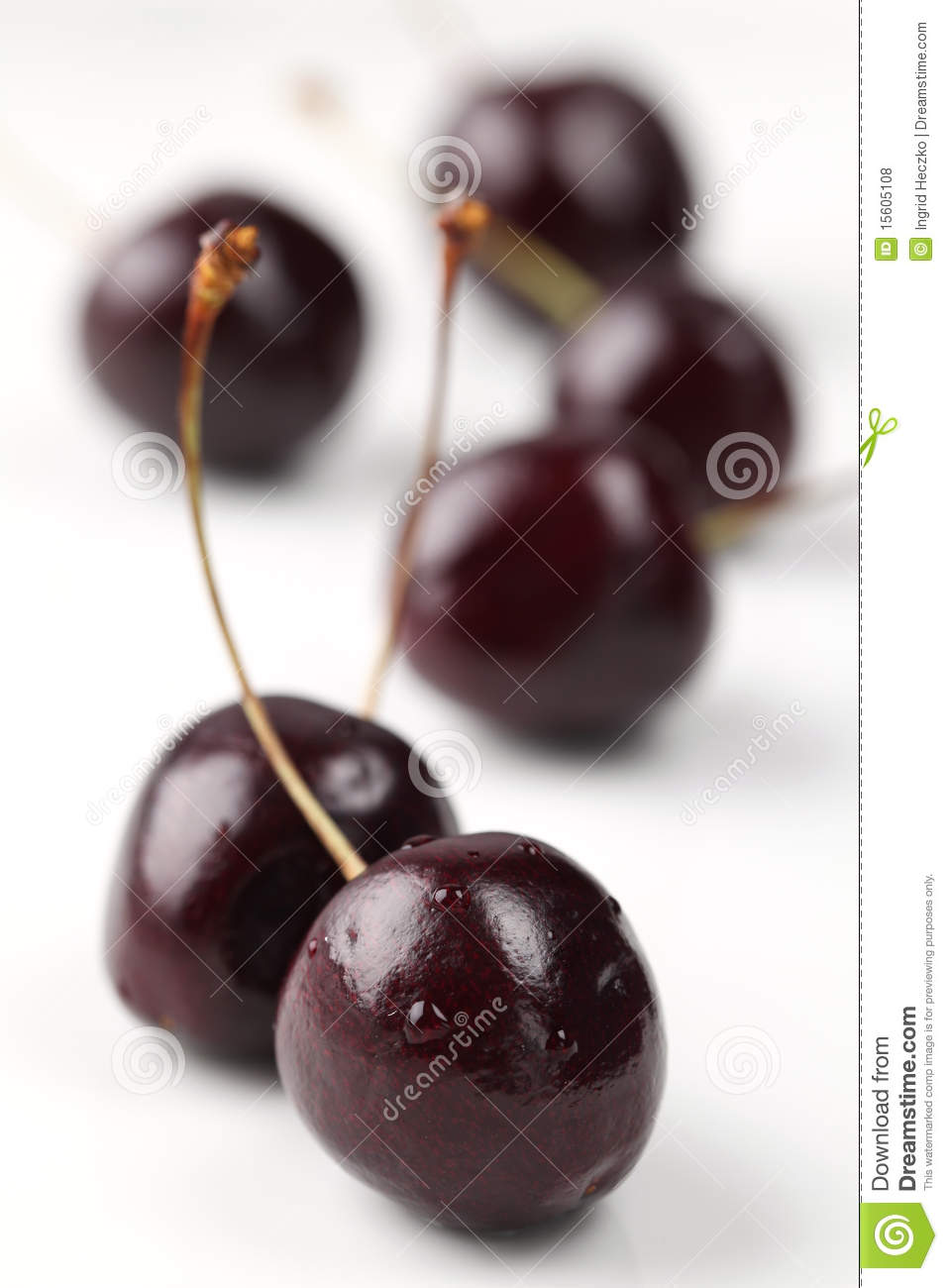 Black Cherries Royalty Free Stock Photos - Image: 15605108