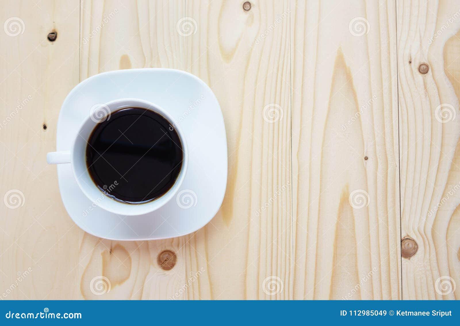 Black Coffee on the wood