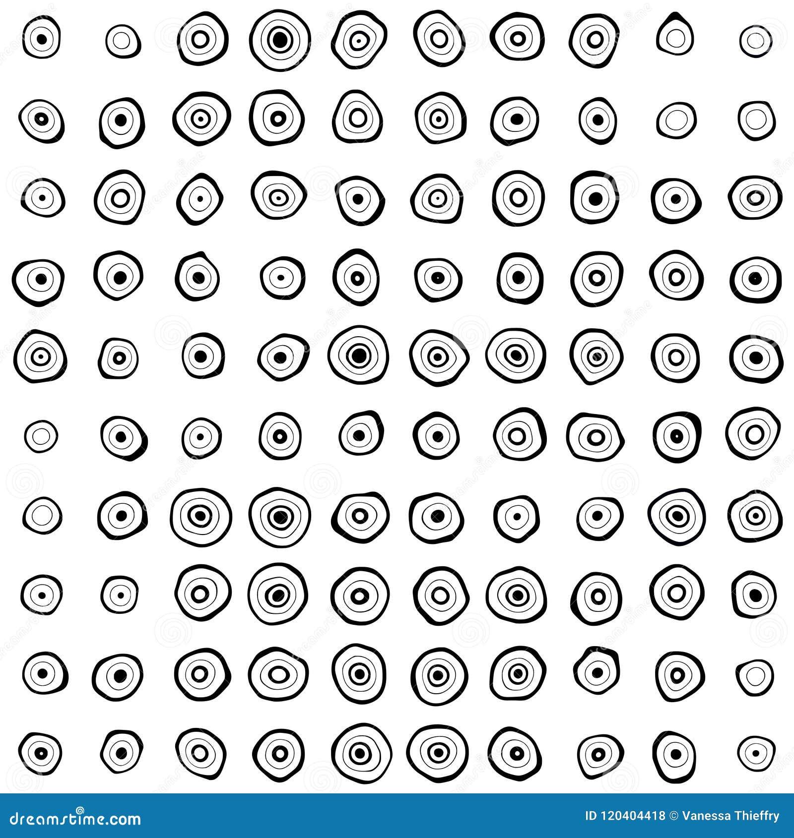 Black Concentric Irregular Circles Pattern Stock Photo Illustration Of Rings Backdrop 120404418