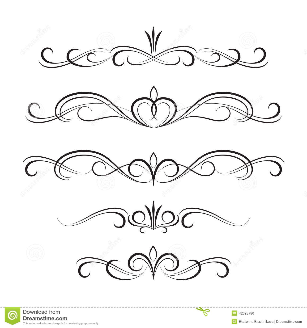 decorative frame border with cupcakes stock illustration