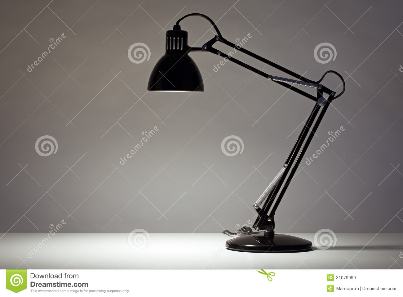Grote bureaulamp elegant royaltyfree stock photo with grote