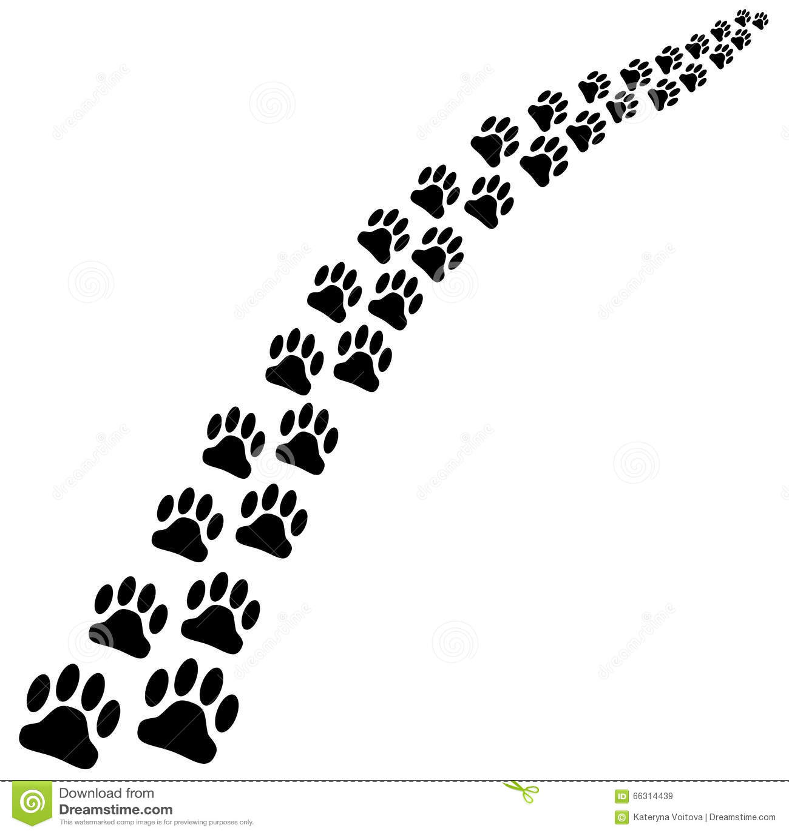 cat paw symbol