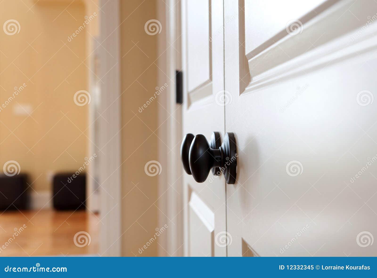 Black Door Knob Royalty Free Stock Photo Image 12332345