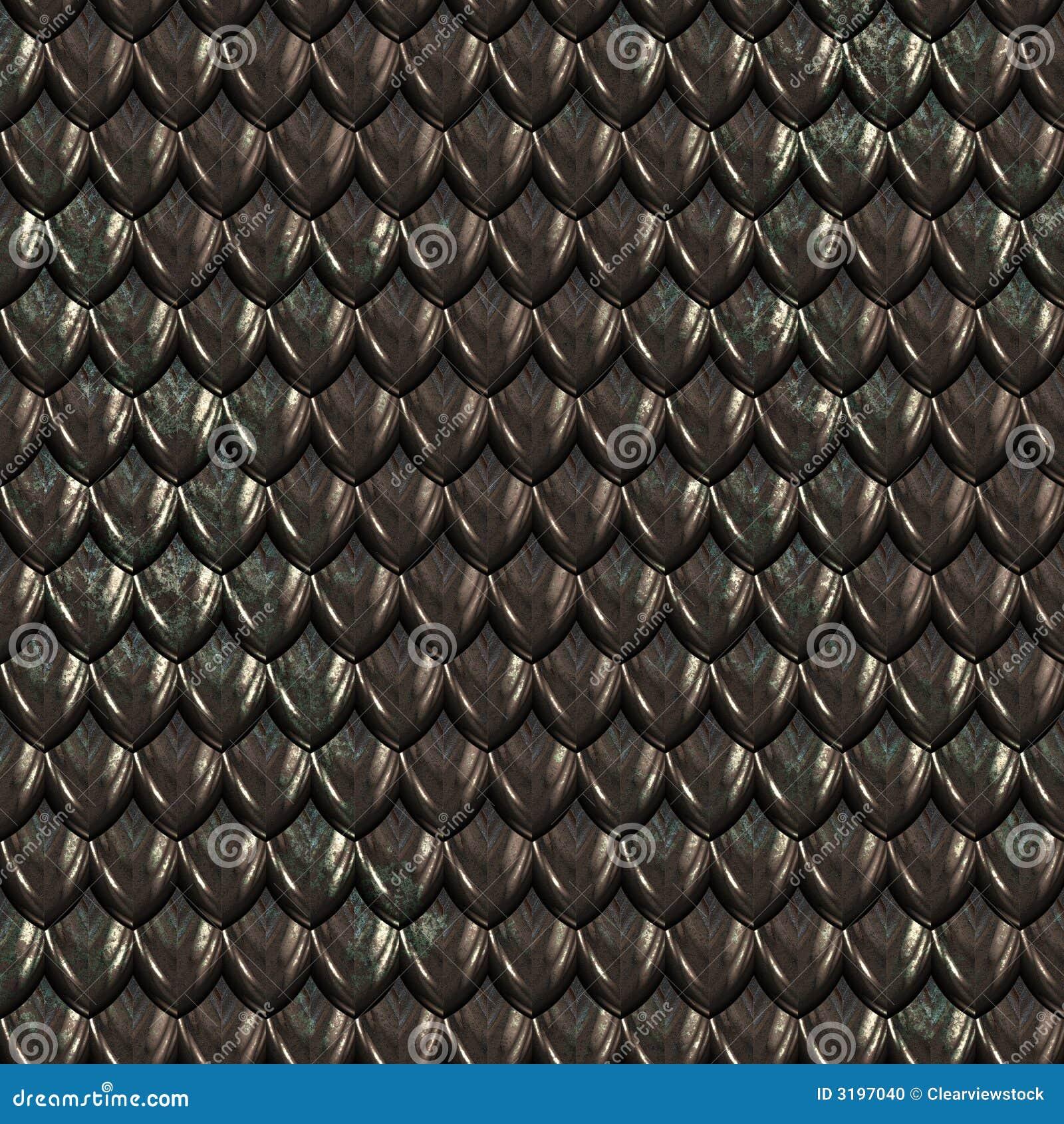 black dragon skin scales