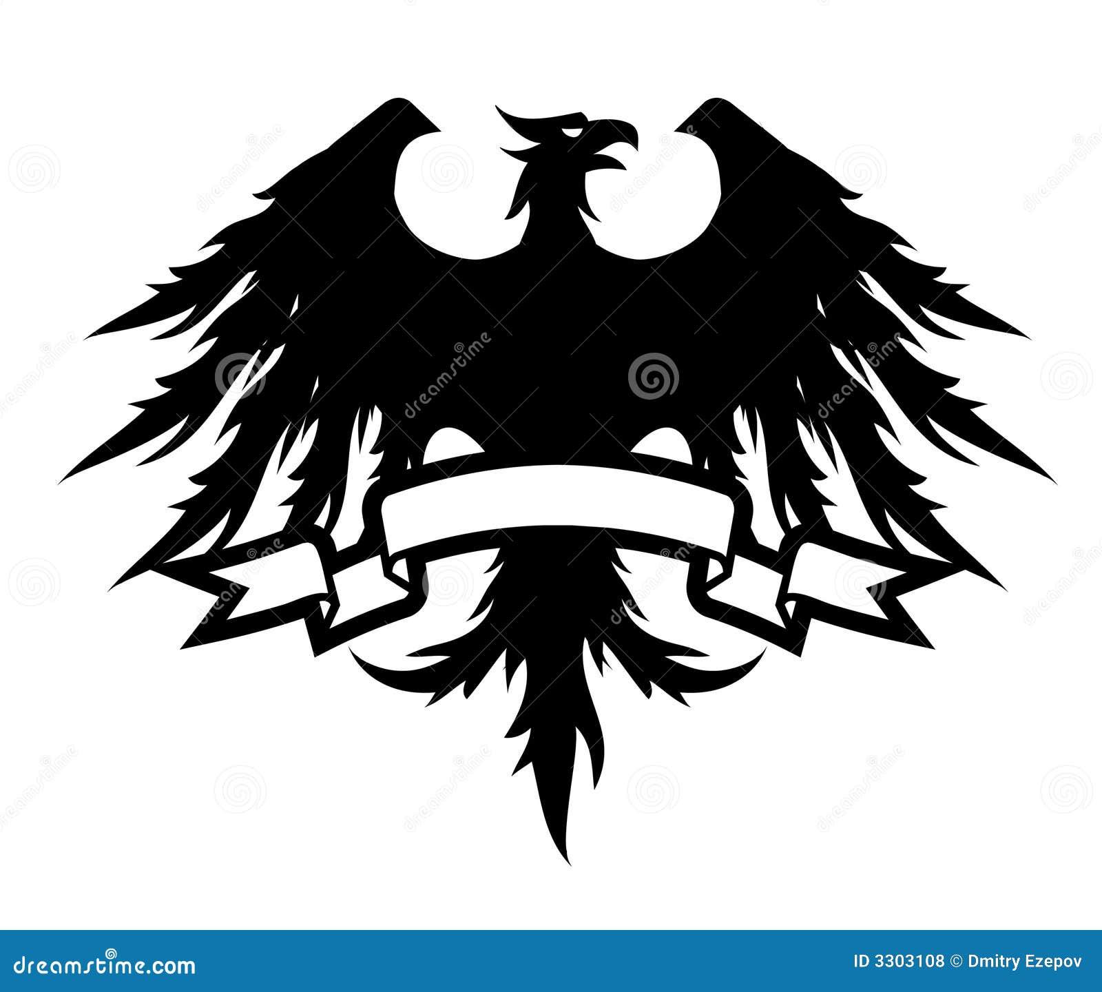 Black Eagle Royalty Free Stock Photos - Image: 3303108