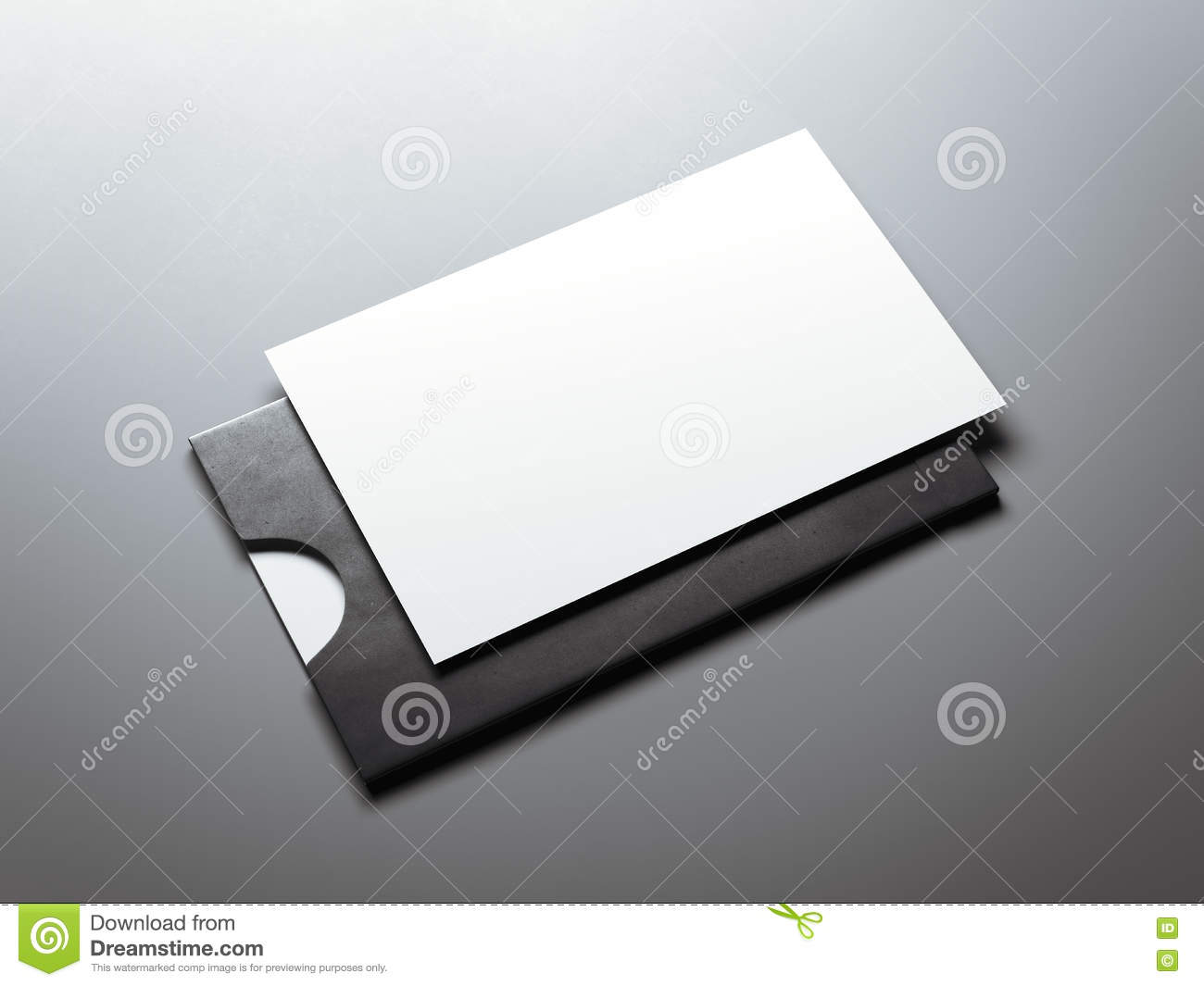Black envelope and white business card 3d rendering stock black envelope and white business card 3d rendering reheart Gallery