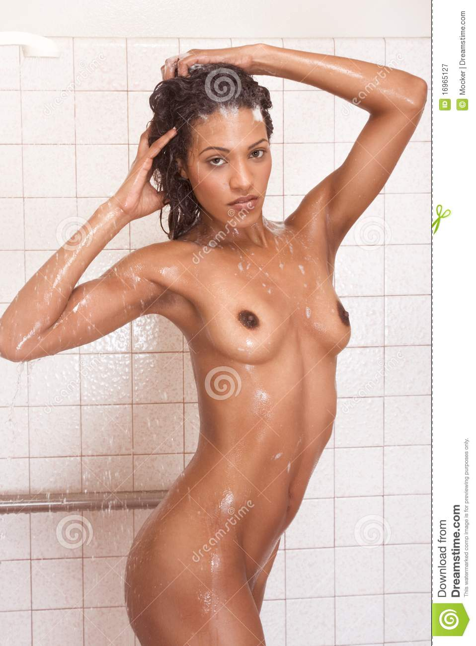 Nude Female Shower 53