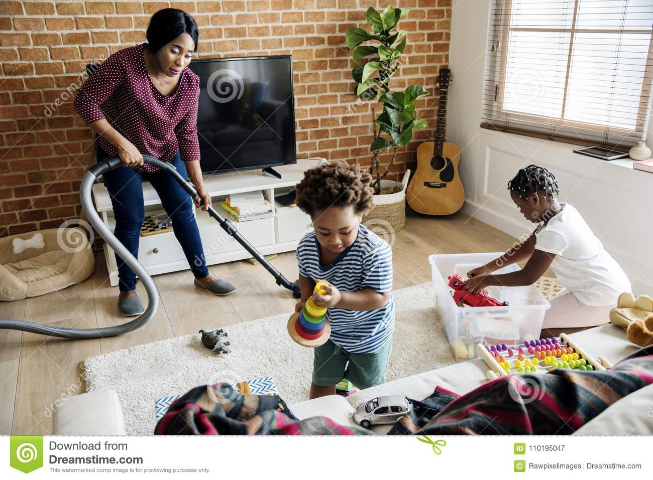Cleaning house kids stock photos download 351 images for House cleaning stock photos