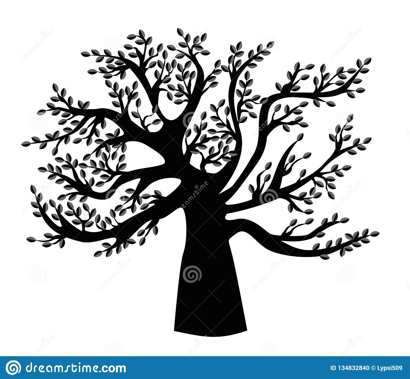 Family Tree Template For Pictures from thumbs.dreamstime.com