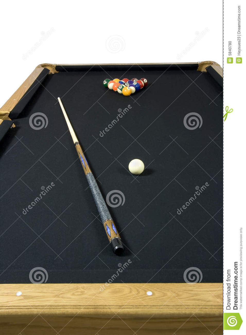 Black Felt Top Pool Table Stock Photo Image Of Green - Black top pool table