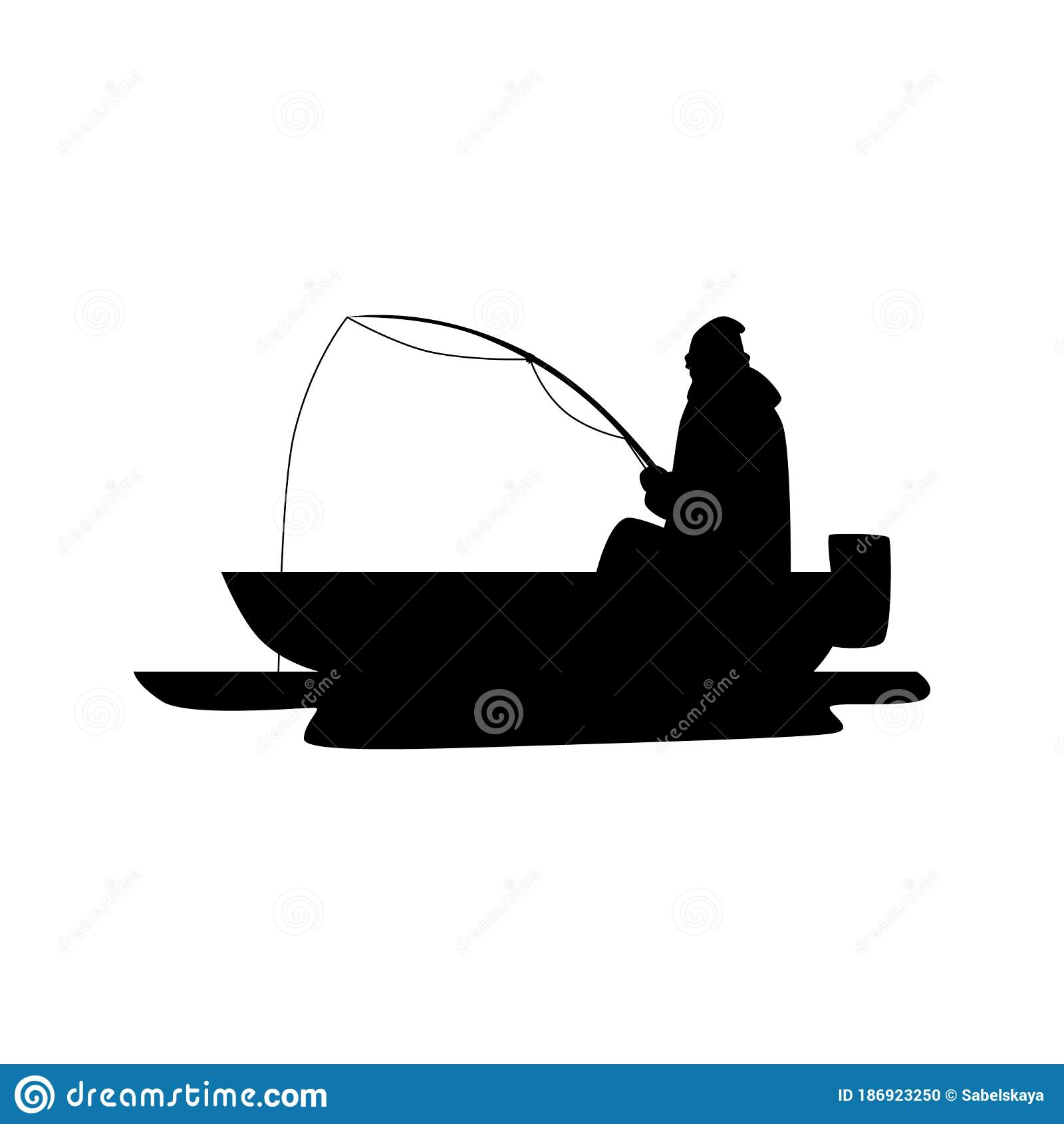 Download Silhouette Man Fishing Boat Stock Illustrations 1 141 Silhouette Man Fishing Boat Stock Illustrations Vectors Clipart Dreamstime