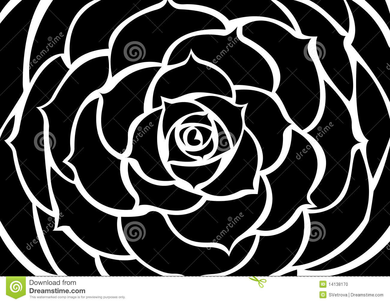 Black Flower Stock Photo - Image: 14138170