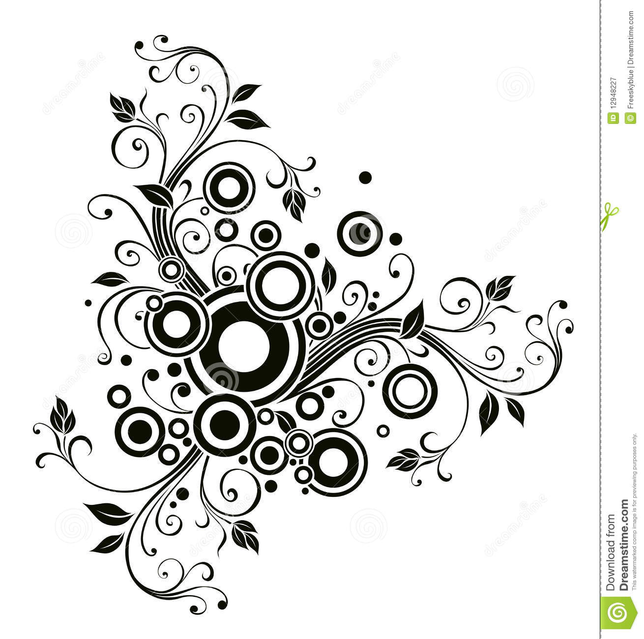 Flower pattern  Coloring Page
