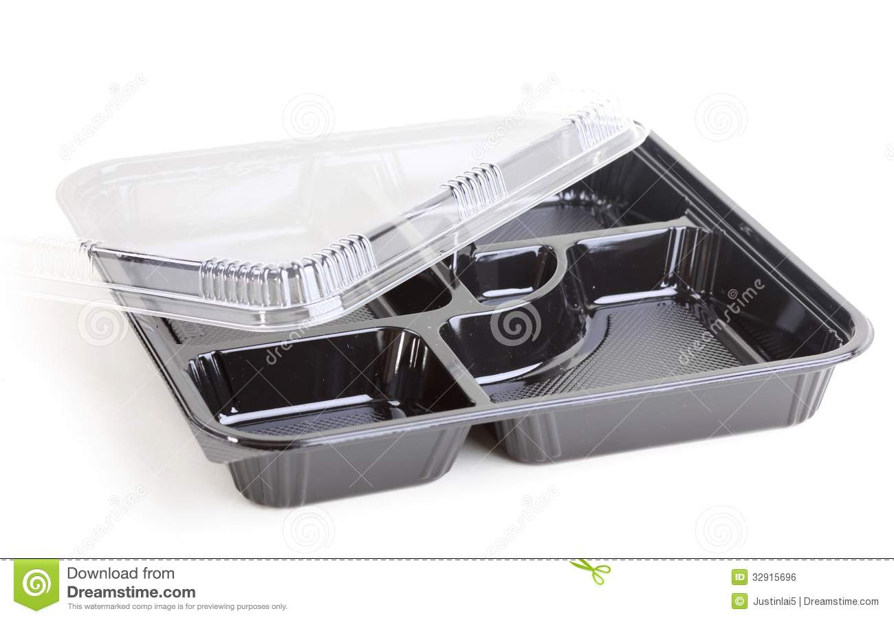 Black Food Plastic Container Stock Photo Image Of Ship