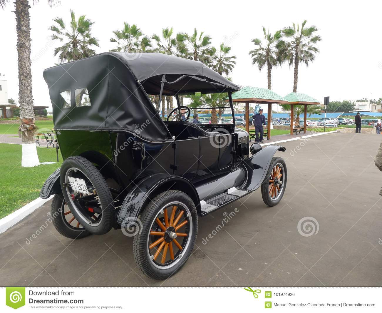 Black Ford T Built In 1923 By Ford Motor Company Editorial Photo