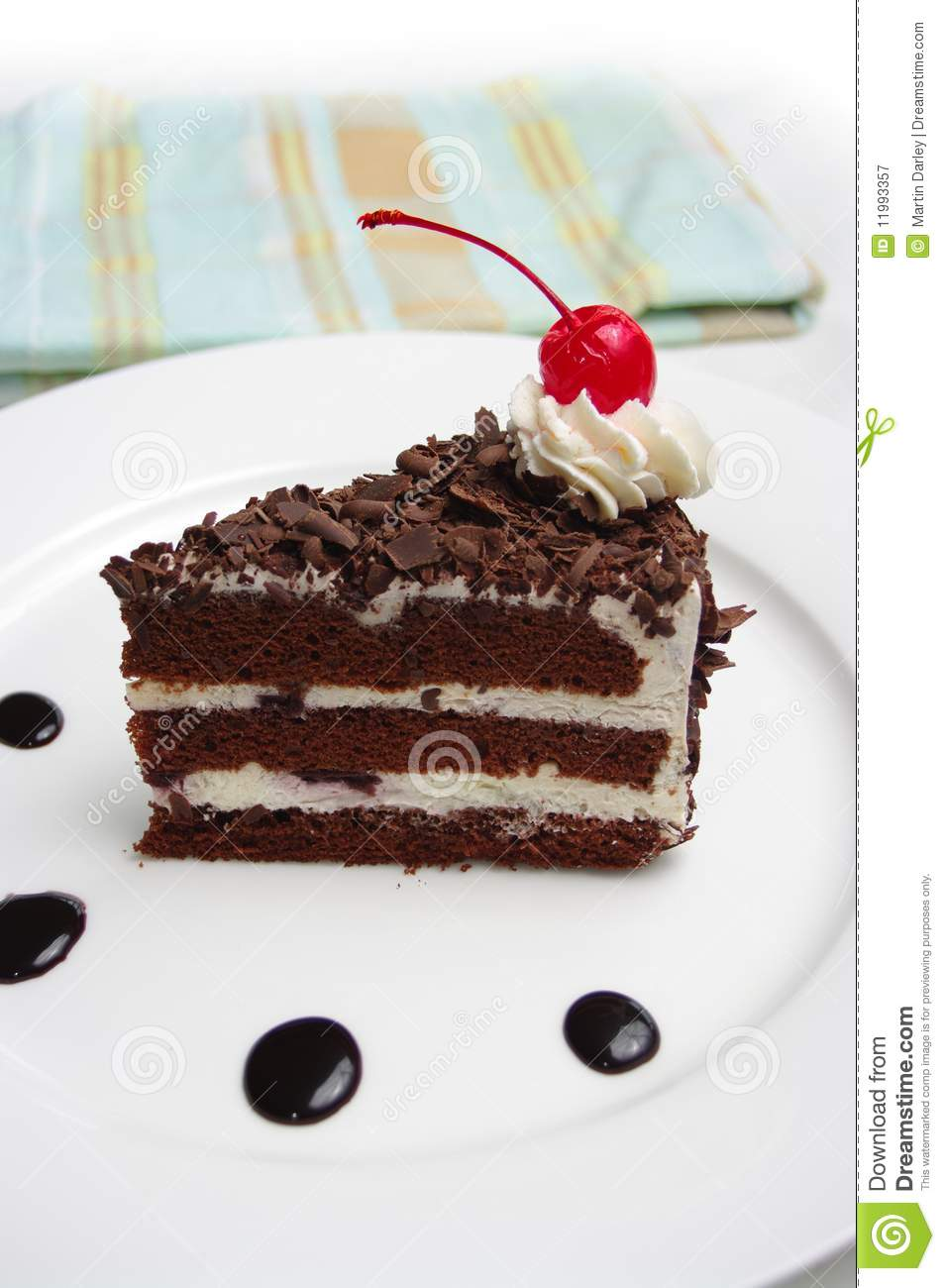 Black Forest Cake Royalty Free Stock Photography - Image ...