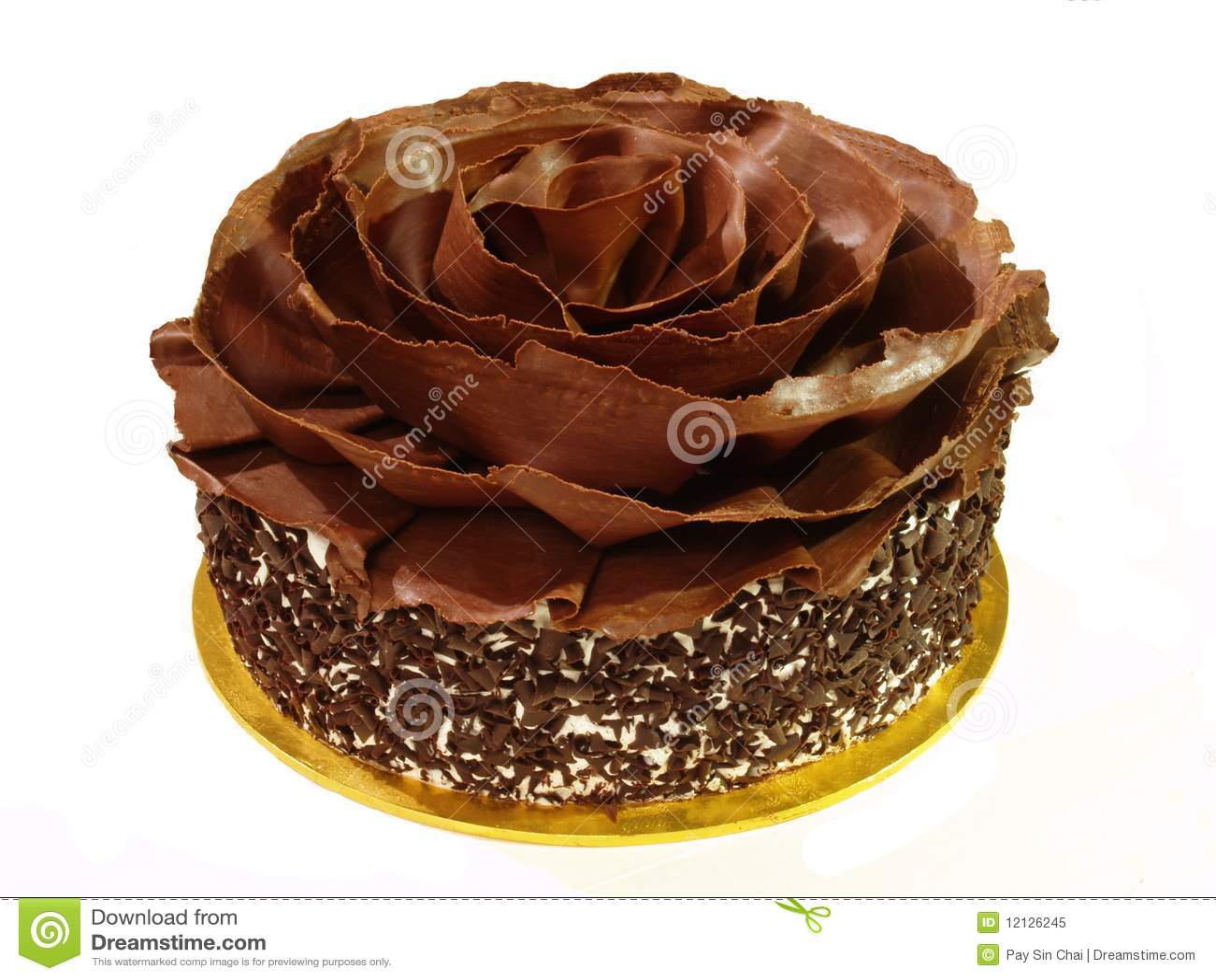 Black Forest Gateau Stock Image Image Of Cake Anniversary 12126245