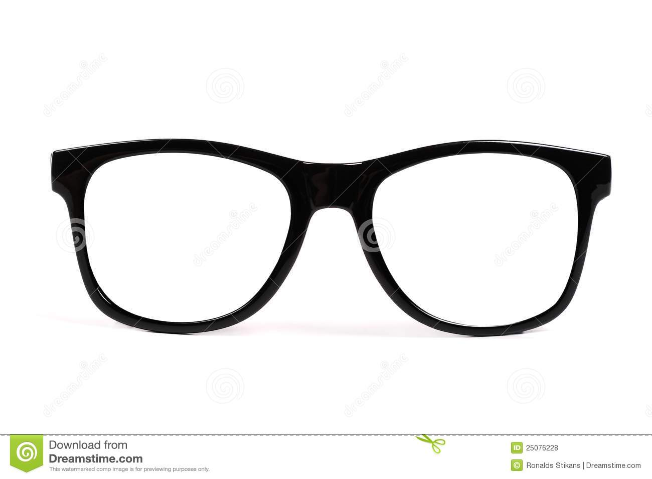 Glasses With Black Frame : Black Frame Glasses Royalty Free Stock Photos - Image ...