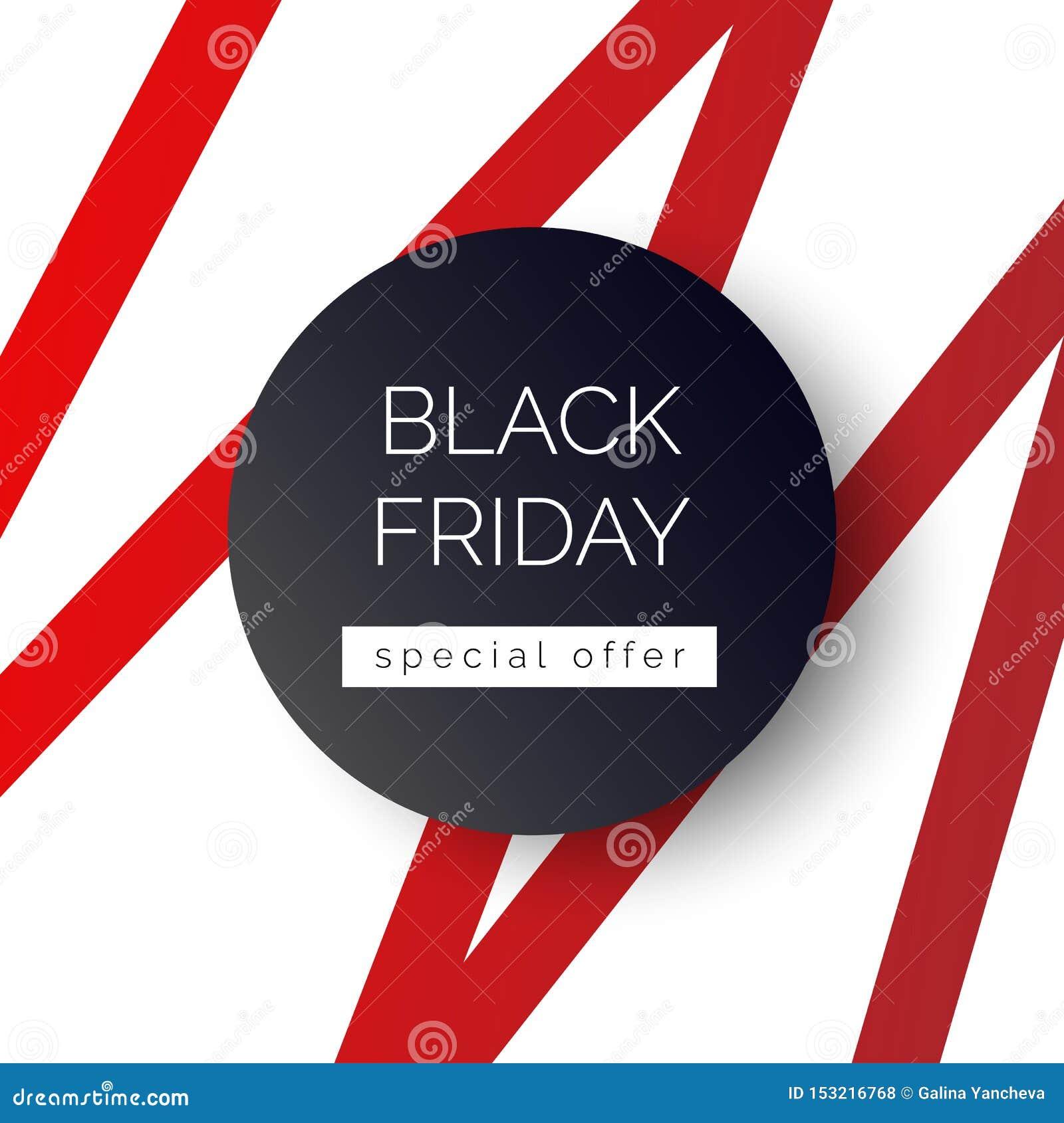Black Friday-banner, malplaatje voor sociale media postbevordering