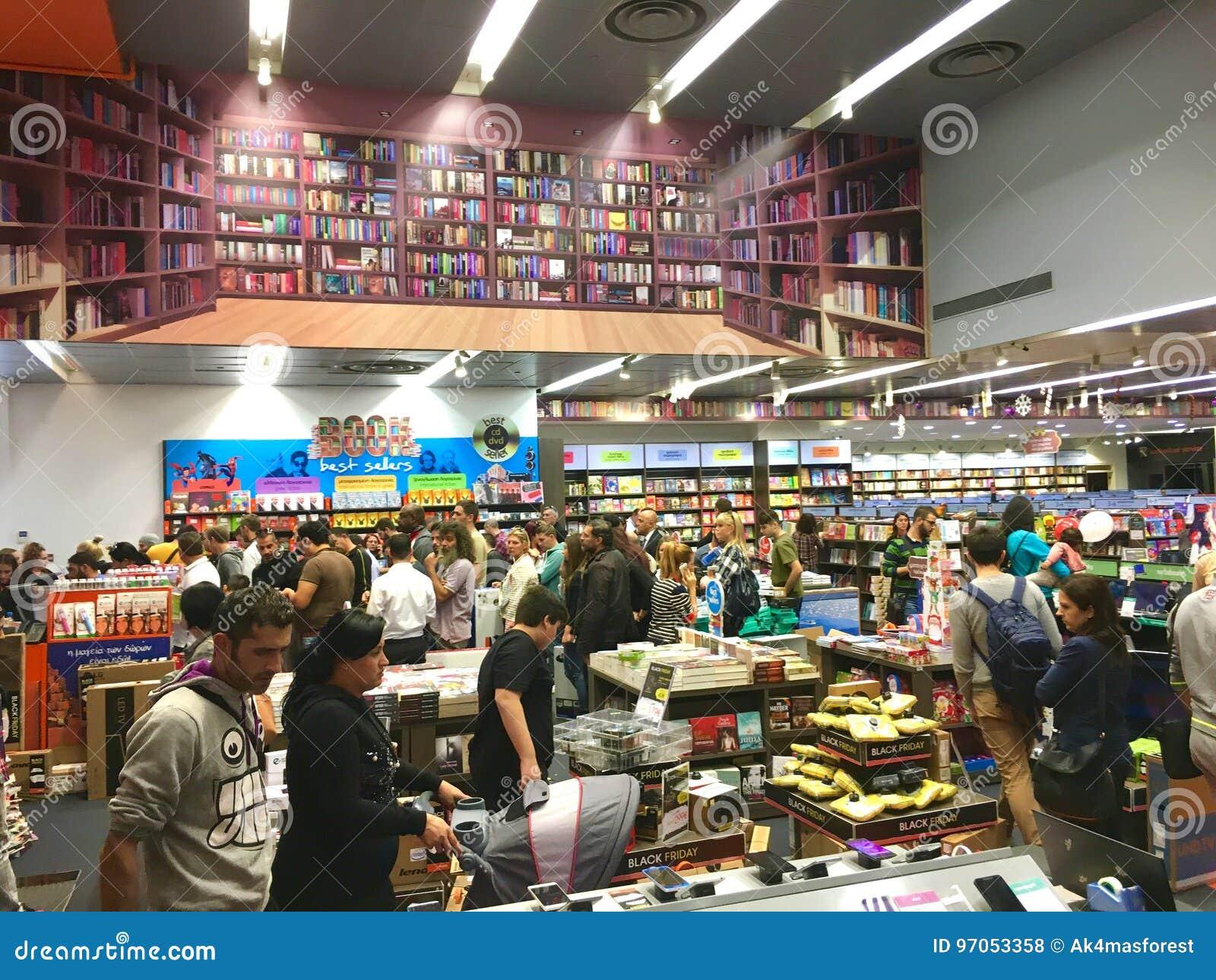 Black Friday dans le magasin de détail