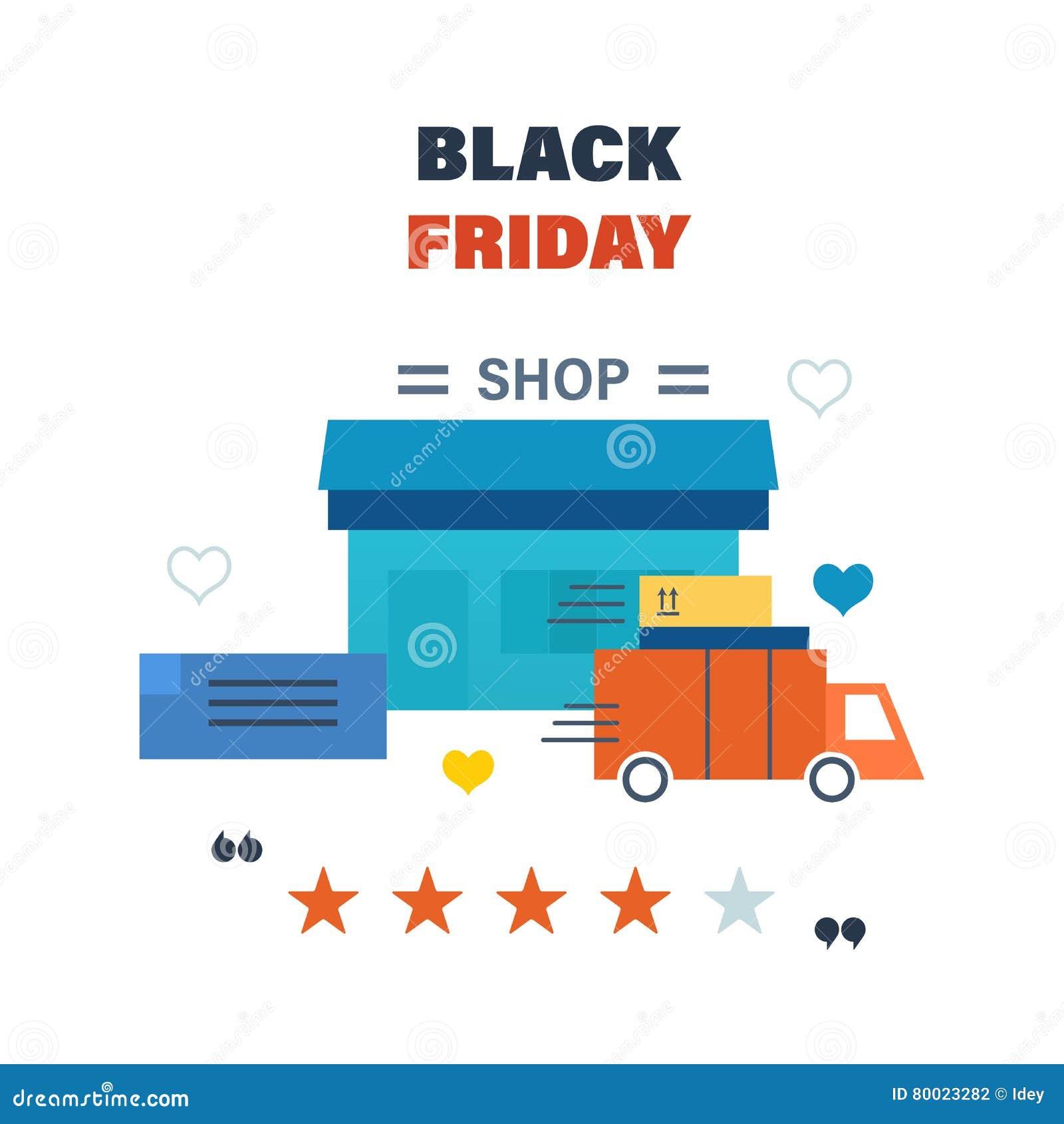 Black Friday Formulierung Und Lieferung Der Waren Rabatte