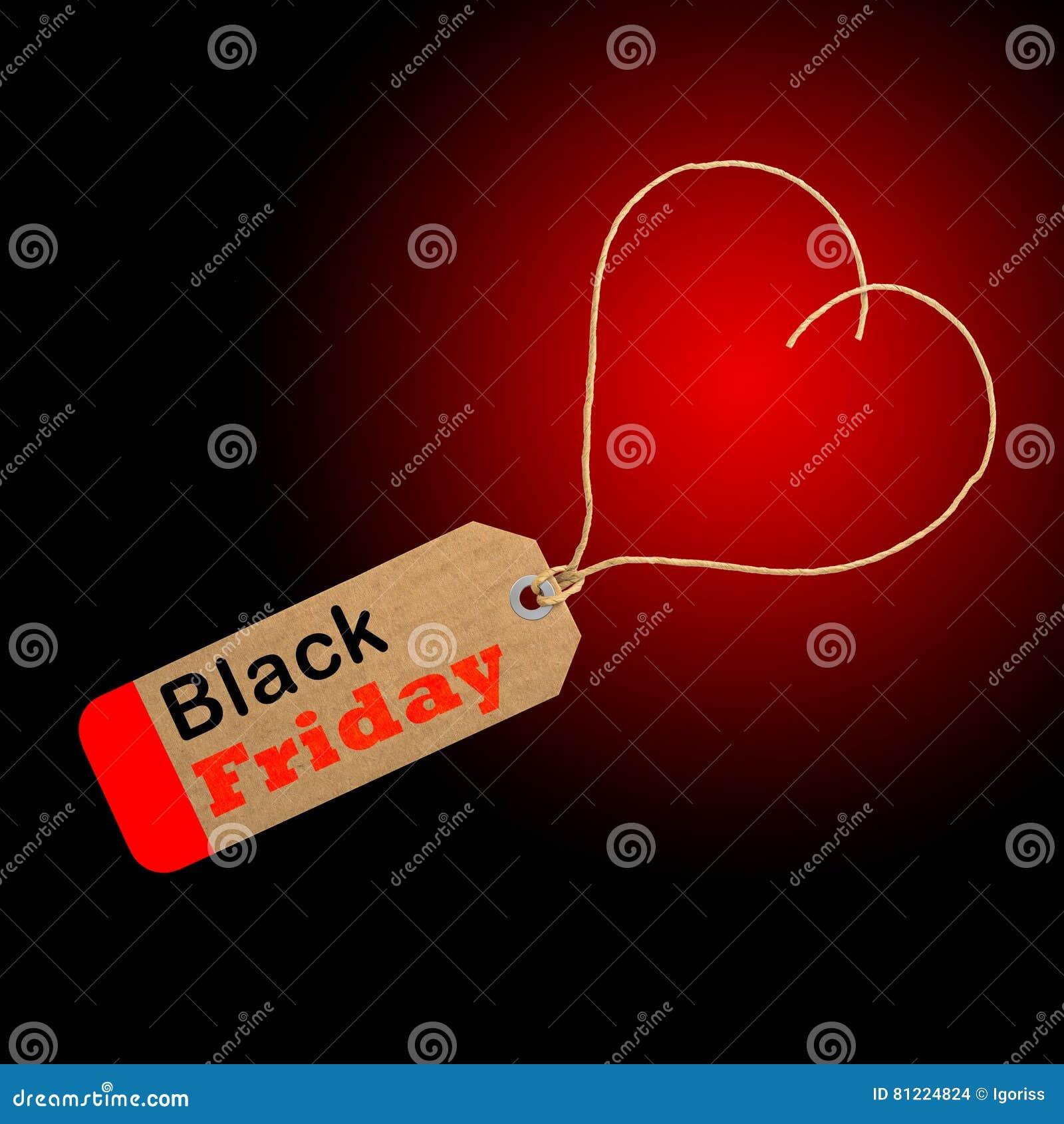 Black Friday-het winkelen het concept van de verkoopmarkering