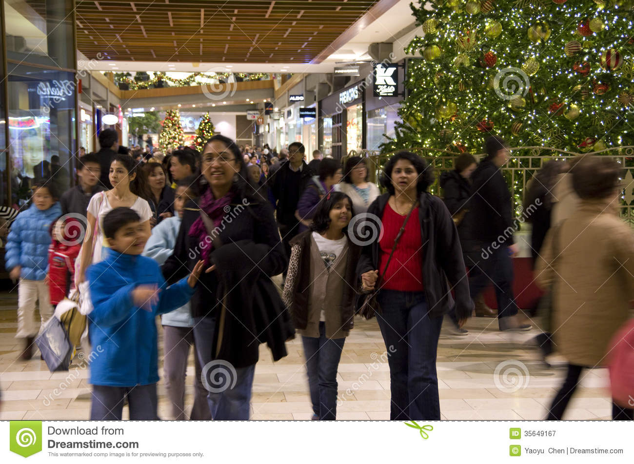 download black friday holiday shopping mall christmas tree editorial photography image of collection customer - Black People Christmas