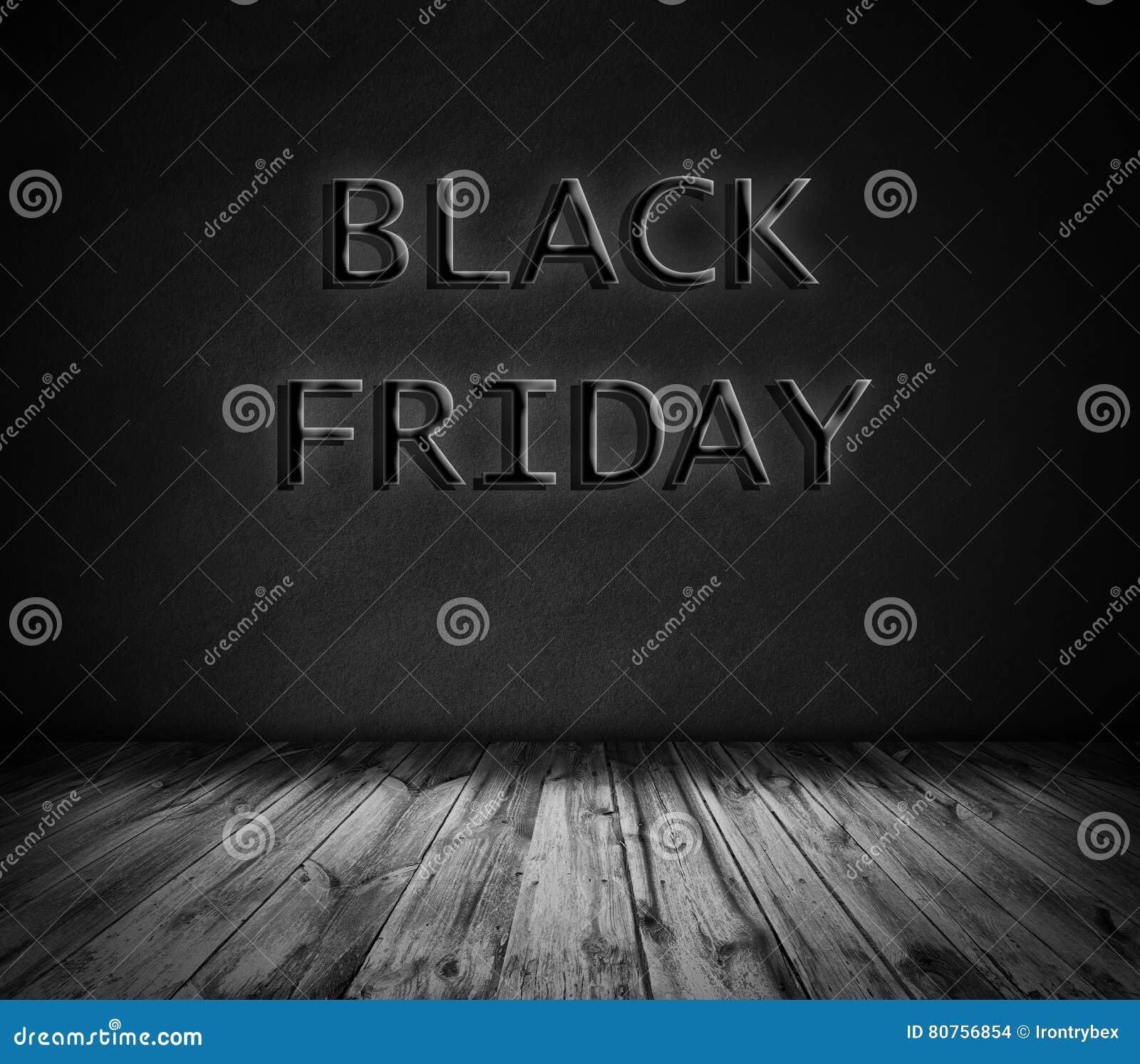 959235e73 Black Friday No Fundo De Pedra Da Rocha E No Assoalho De Madeira ...