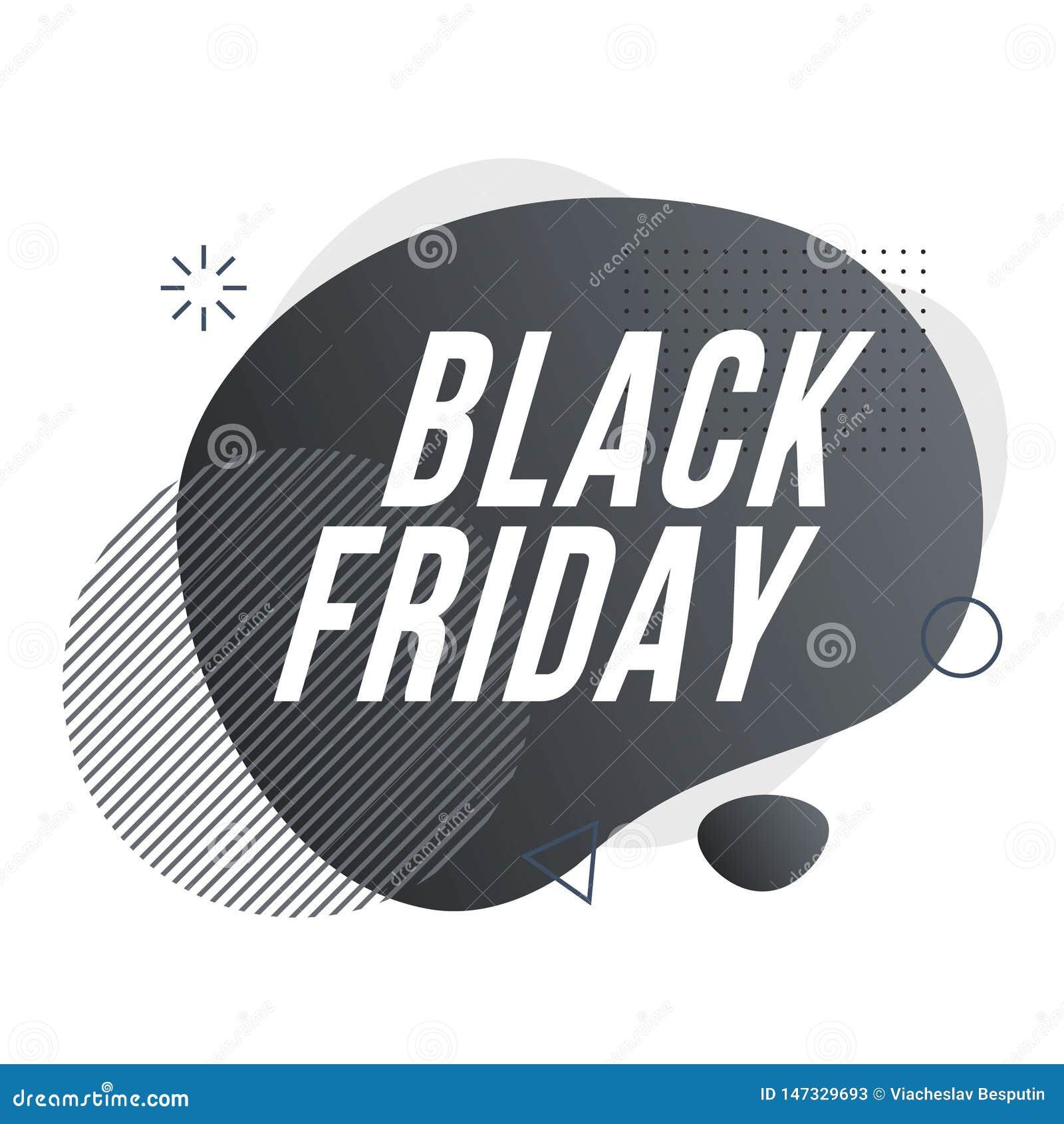 Black Friday. Organic design