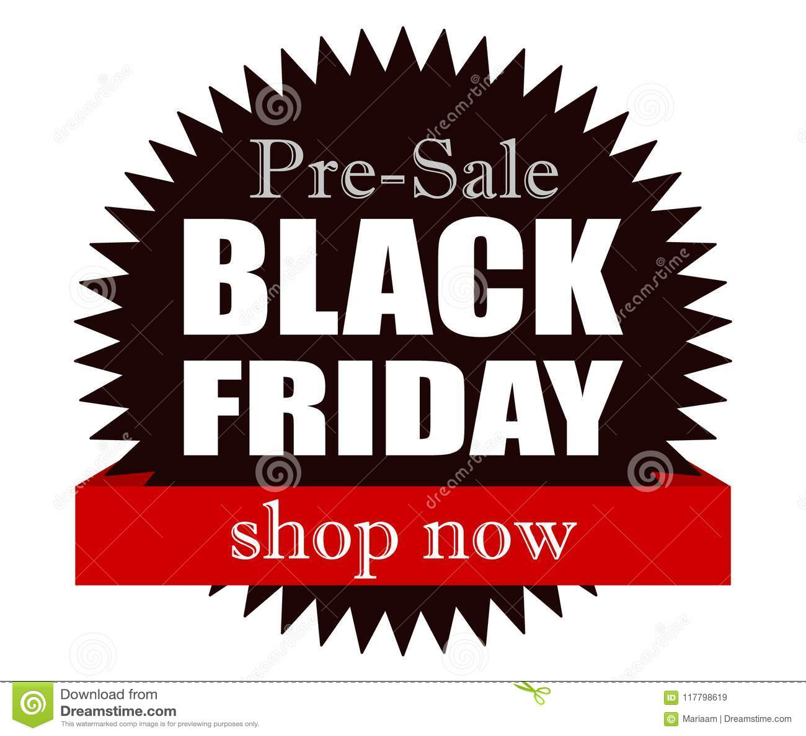 043e4affd8 Black Friday Pre-sale! Shop Now. Stock Vector - Illustration of ...