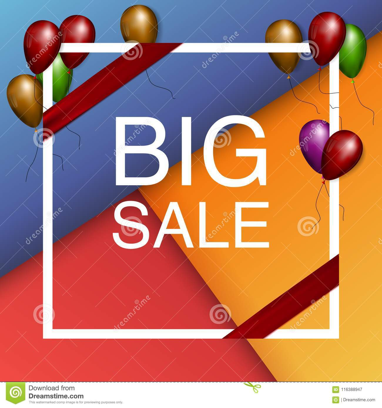 5a6a4154d Black Friday Sale Poster with Dark Shiny Balloons Bunch Isolated on White  Background with text. Vector illustration