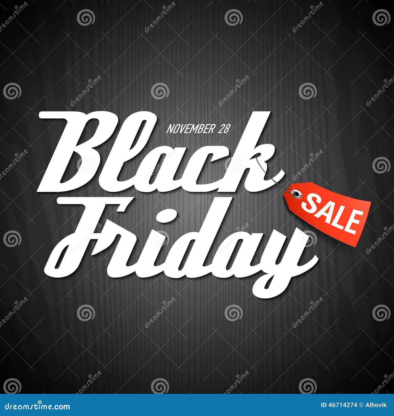 black friday sale poster stock vector image of label 46714274. Black Bedroom Furniture Sets. Home Design Ideas