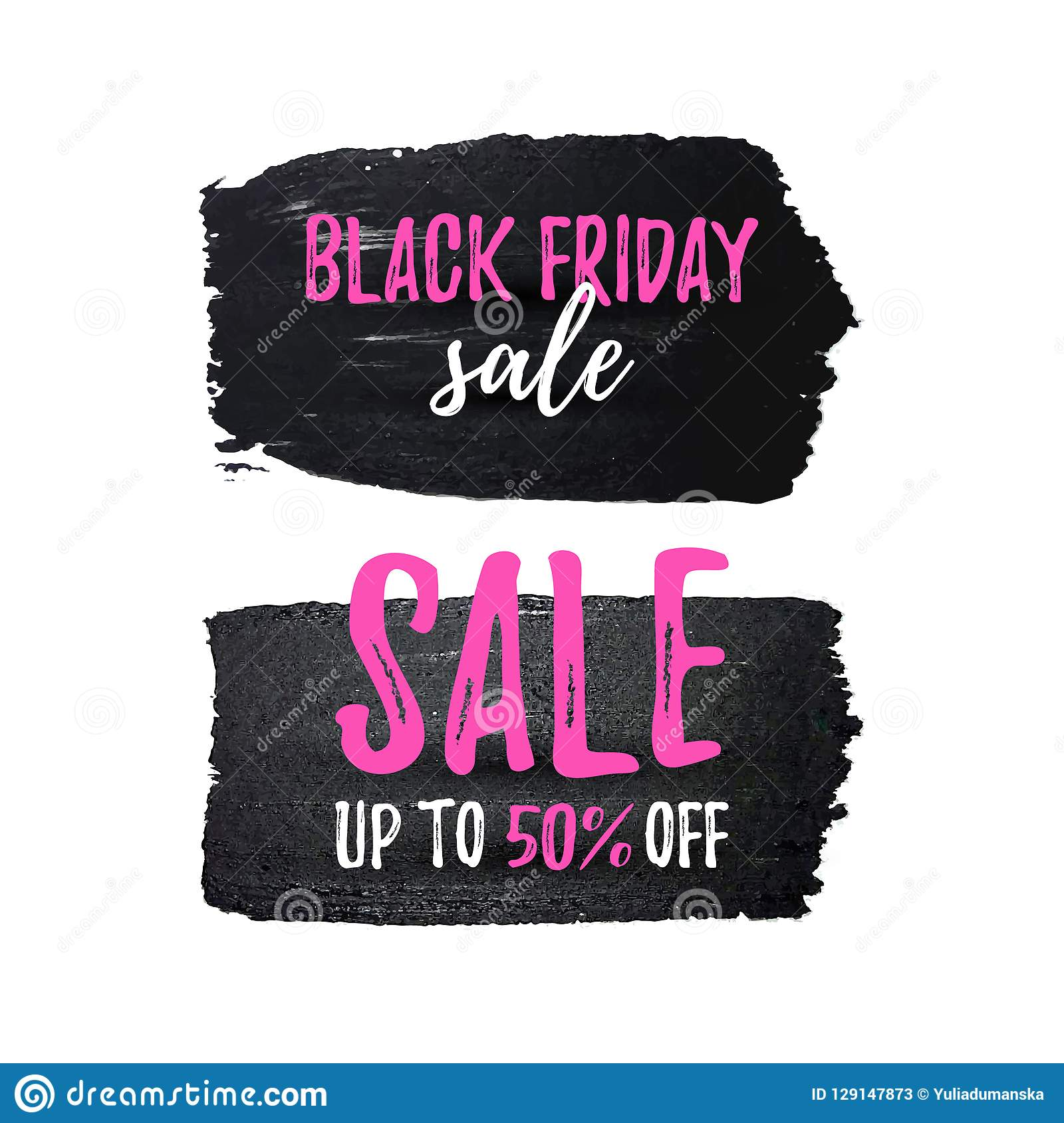 a563d94172 Black Friday Sale Poster Set. Discount Card