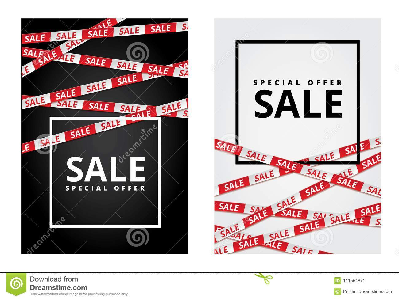 Black friday sale tape ribbon card stock vector illustration of black friday sale tape ribbon card background special offer tape poster low price banner discount flyer holiday percentage wallpaper shopping template reheart Gallery
