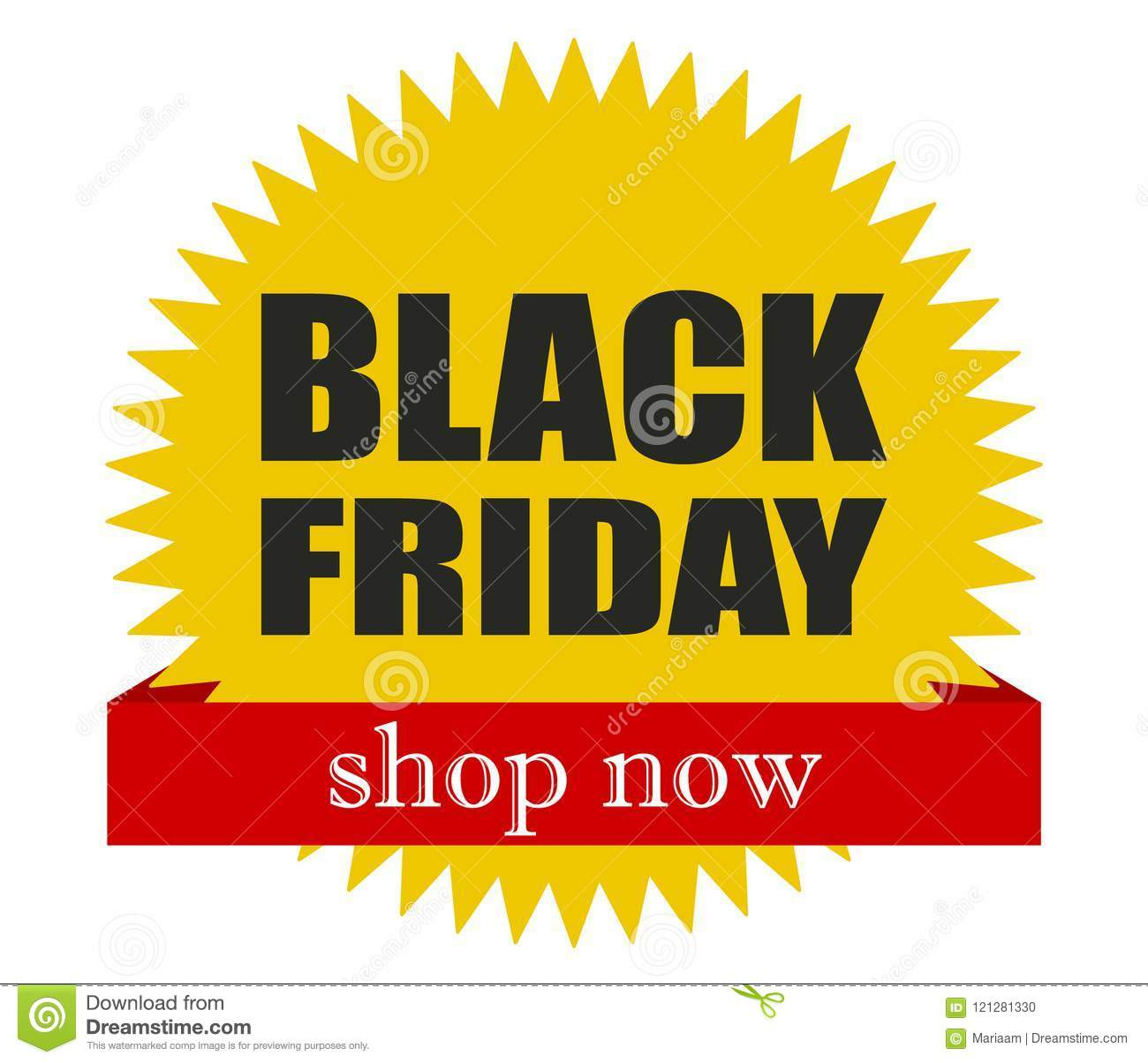 20a54b6ac3 Black friday! Shop now. Great deals. Special offers. Vector flat design.