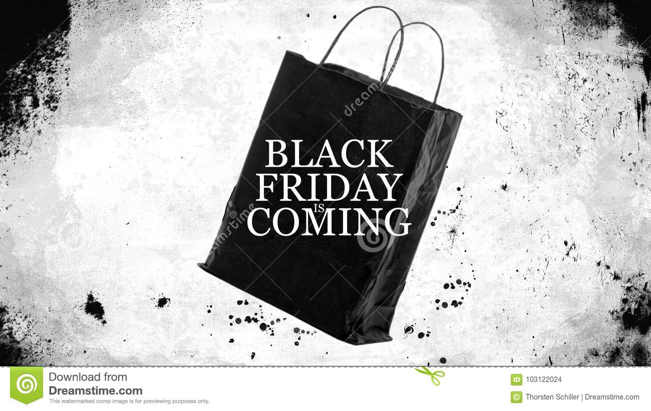 f430c684bc50 Black Friday Shopping Sales Bag - Black Friday Is Coming Stock ...