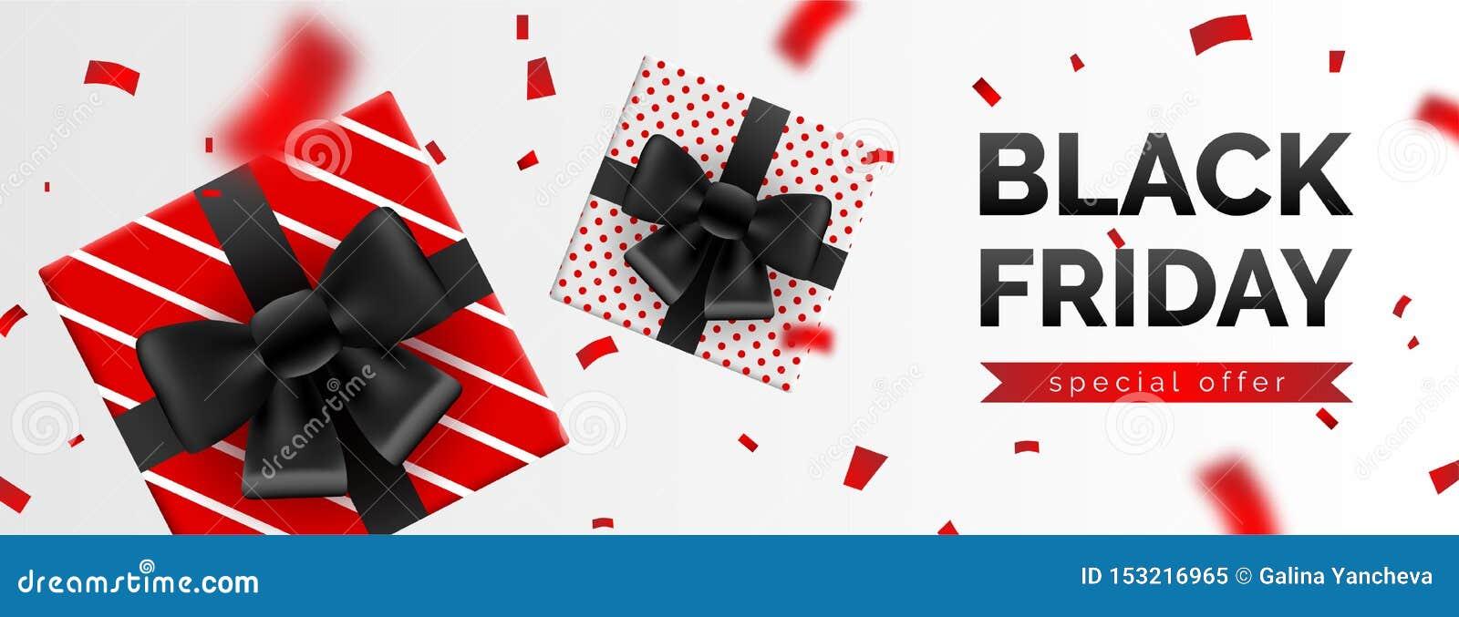 Black Friday-Verkaufsfahne, Schablone für Social Media-Postenförderung