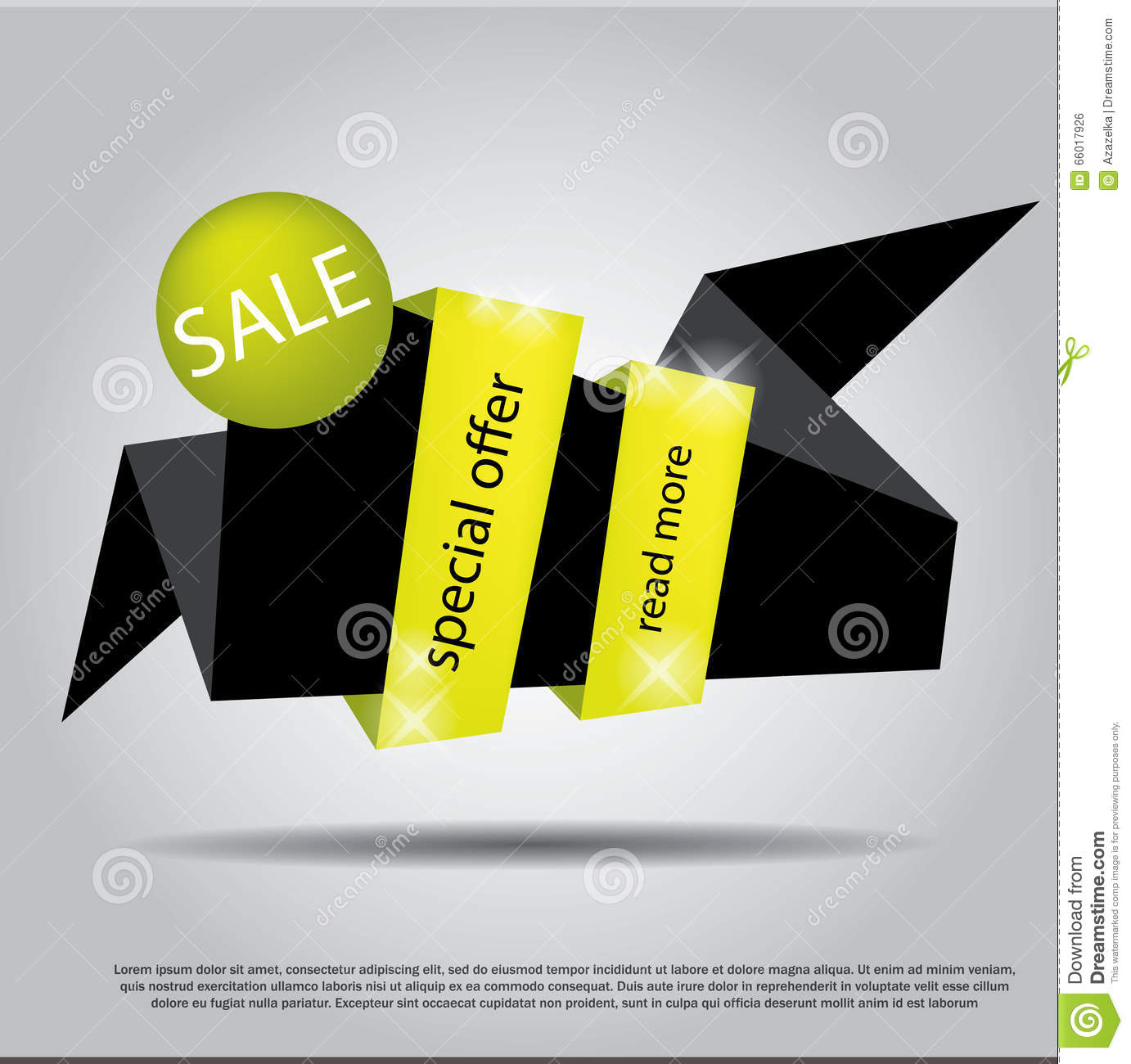 Poster design eps - Royalty Free Vector