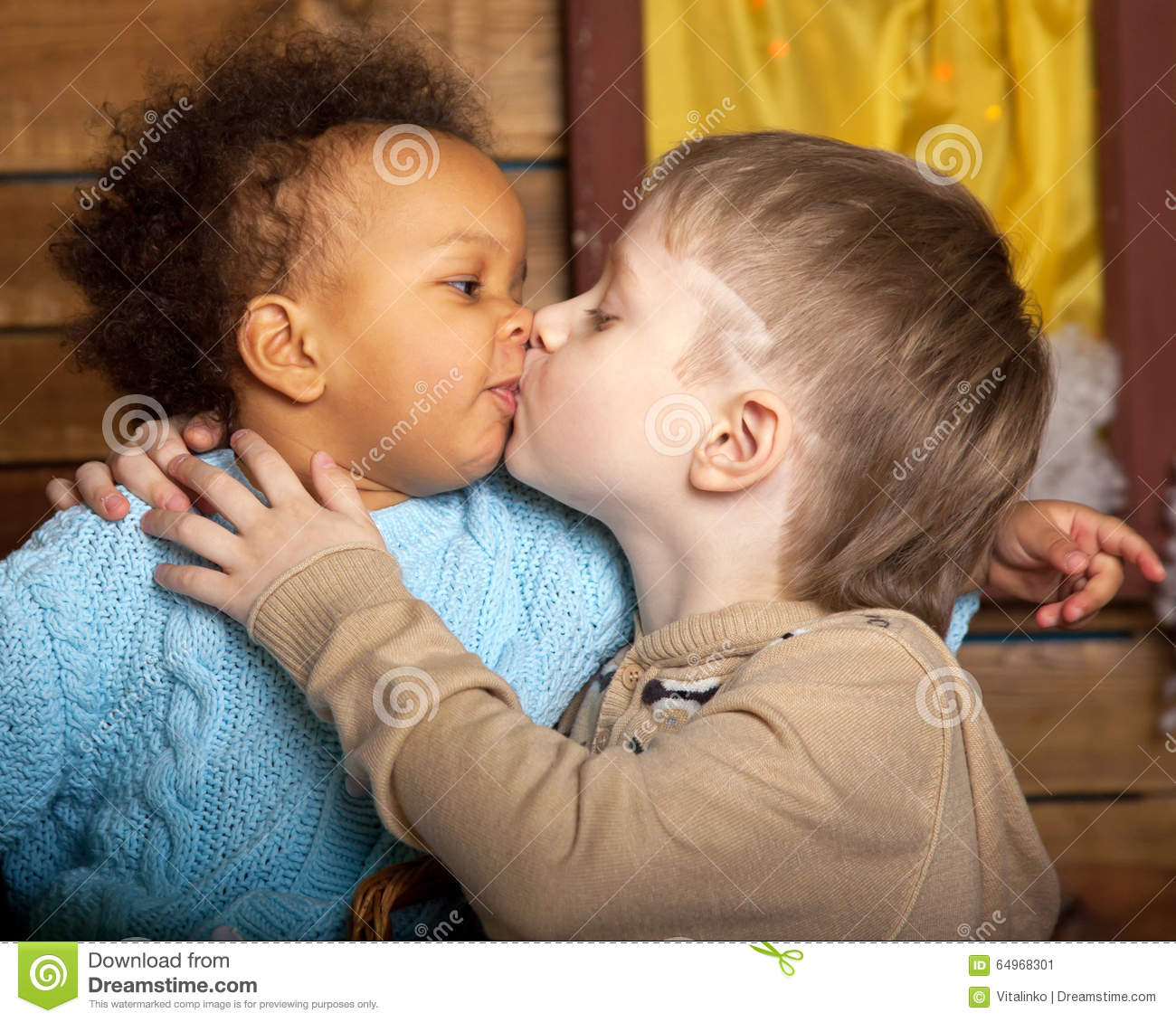 Black Girls Kissing White Boys