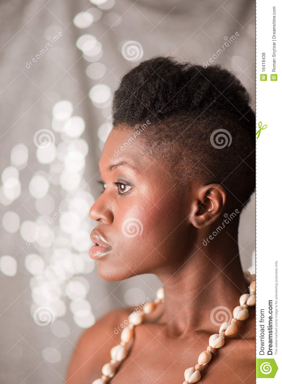 black girl profile